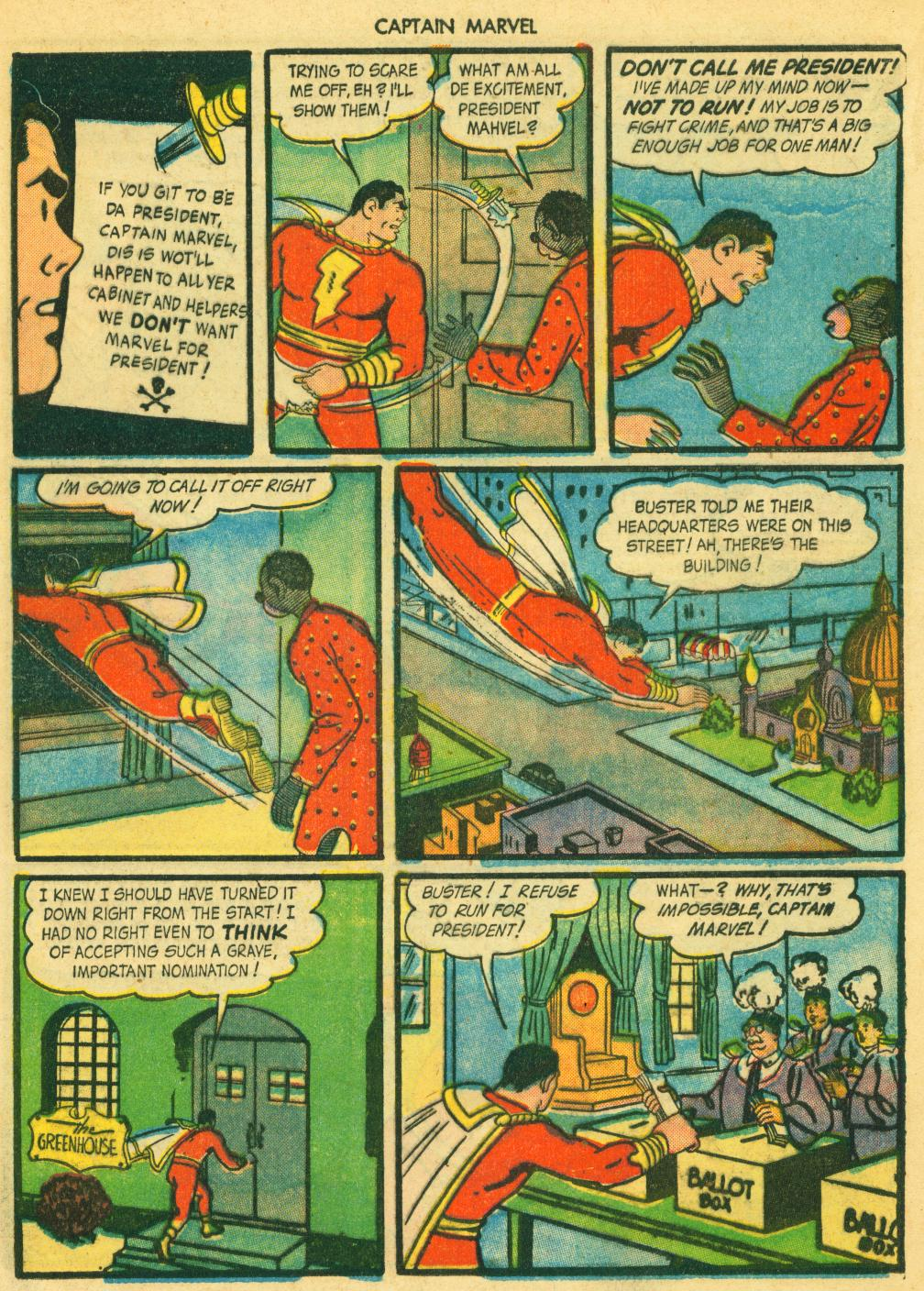 Captain Marvel Adventures issue 41 - Page 37