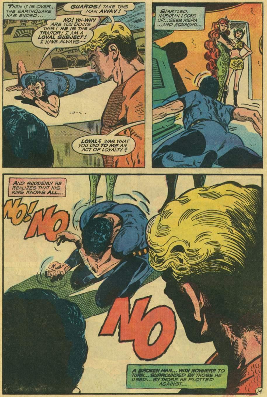 Read online Aquaman (1962) comic -  Issue #48 - 21