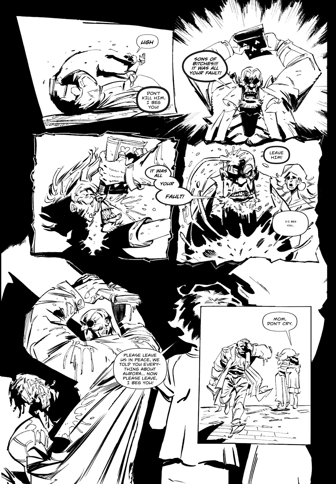 Read online Wrath of God comic -  Issue #2 - 16