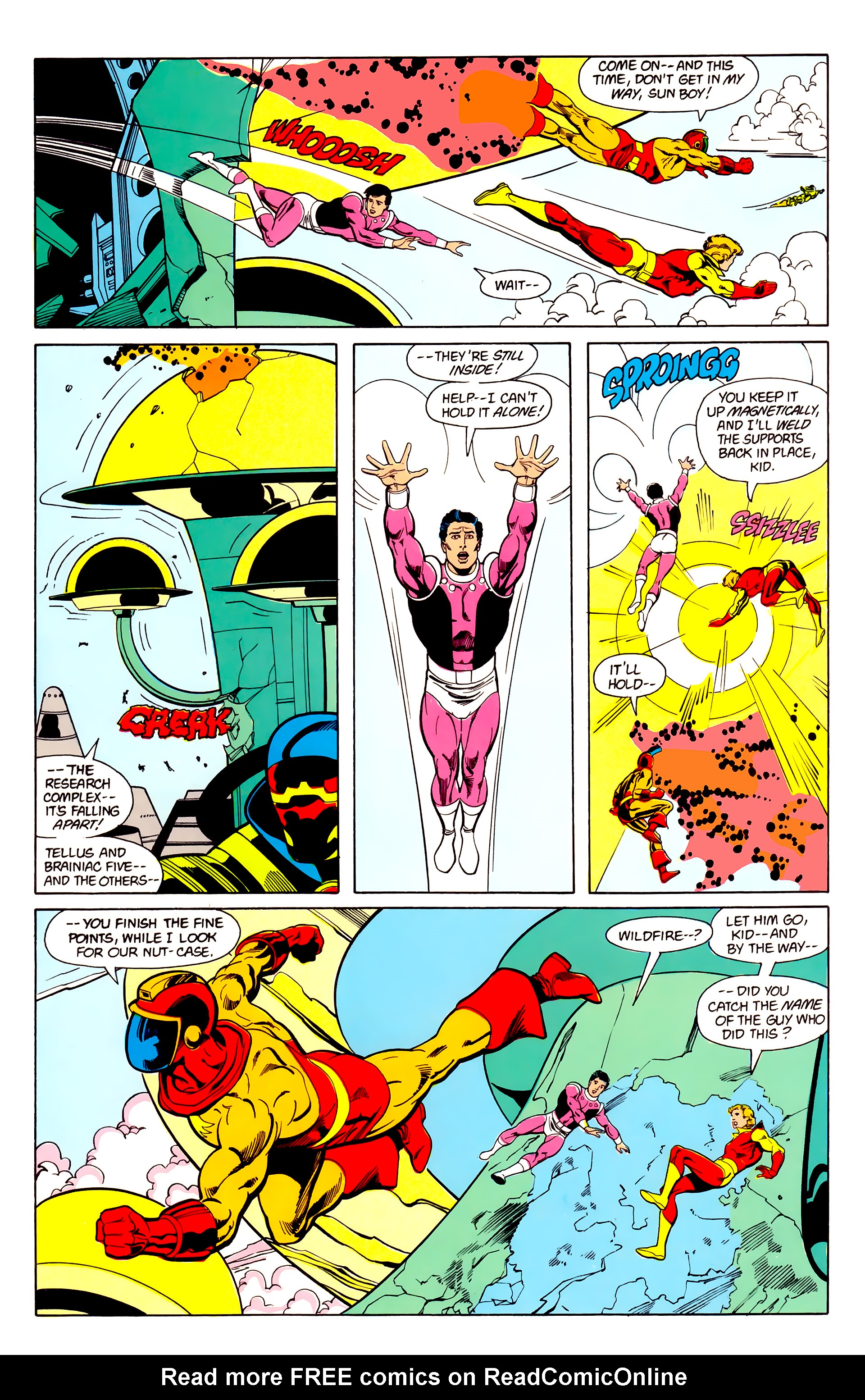 Legion of Super-Heroes (1984) 22 Page 11