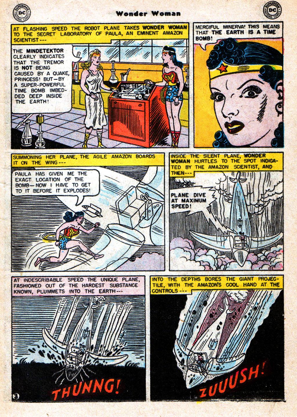 Read online Wonder Woman (1942) comic -  Issue #77 - 15