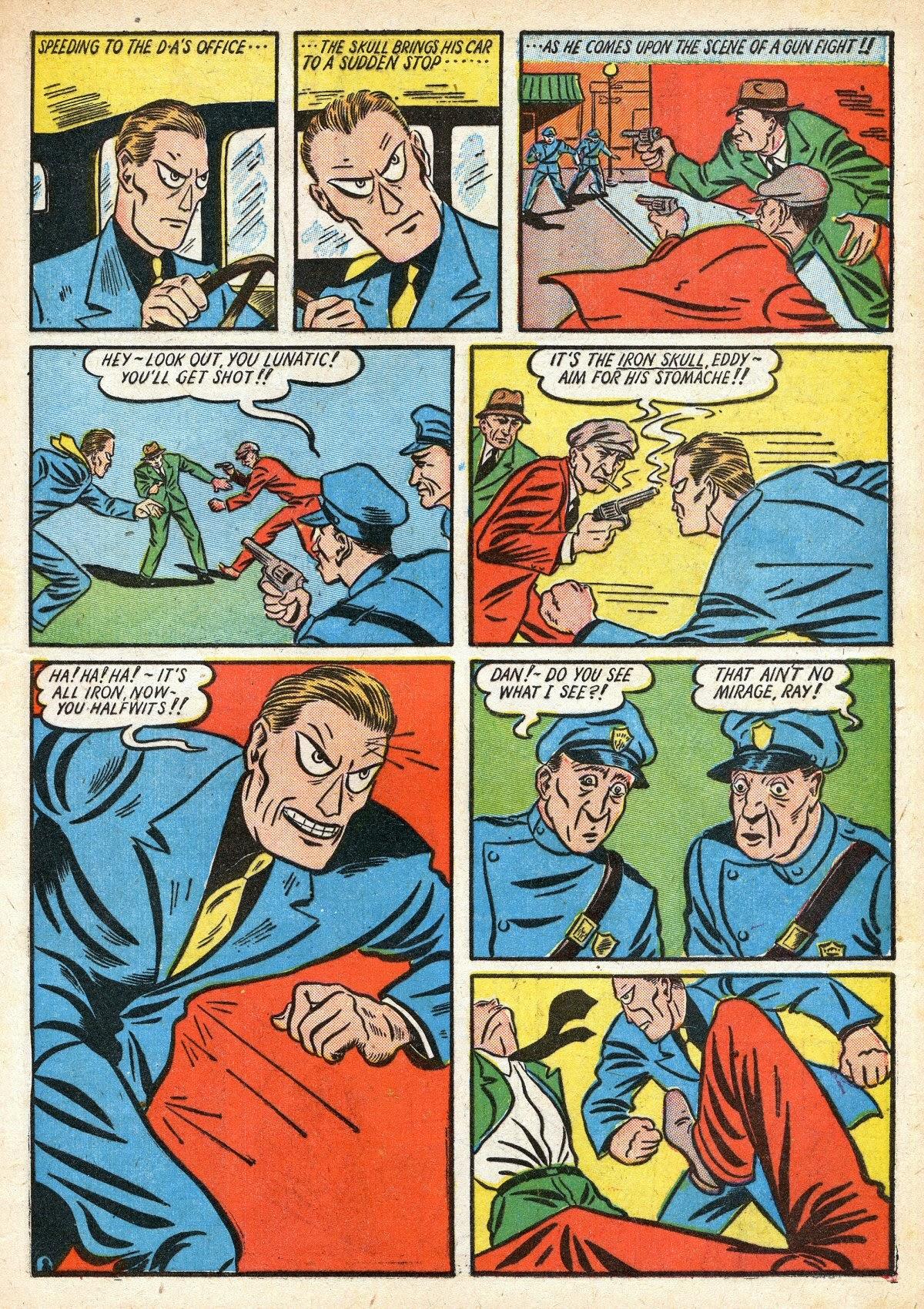 Read online Amazing Man Comics comic -  Issue #16 - 17