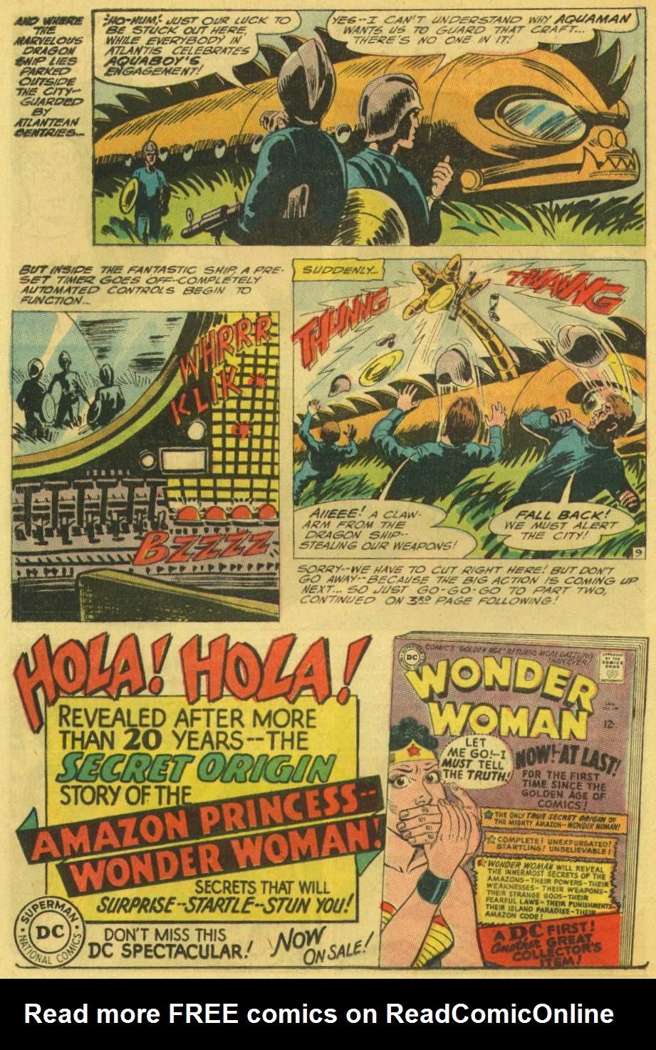 Read online Aquaman (1962) comic -  Issue #25 - 12