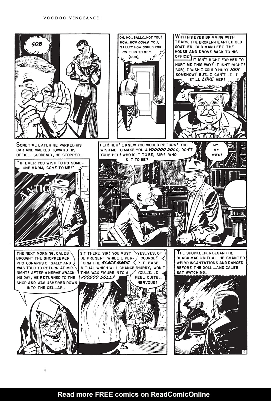 Read online Voodoo Vengeance and Other Stories comic -  Issue # TPB (Part 1) - 21