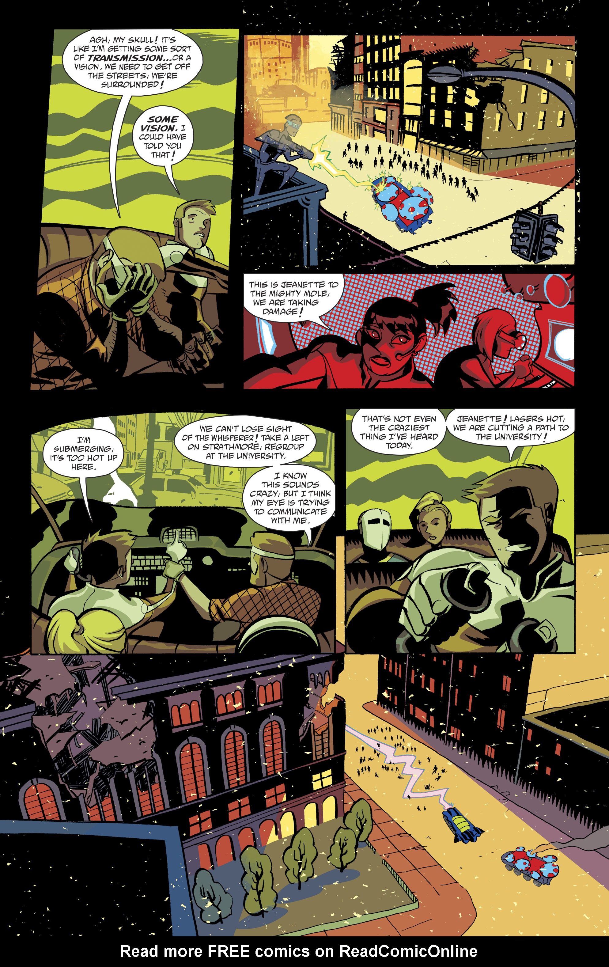 Read online Cave Carson Has a Cybernetic Eye comic -  Issue #8 - 11