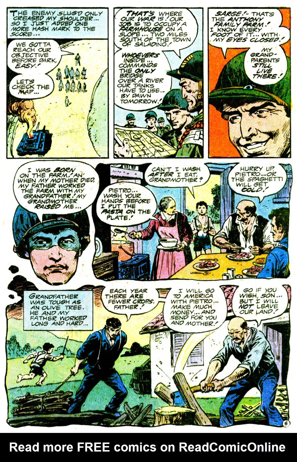 Read online Sgt. Rock comic -  Issue #364 - 8