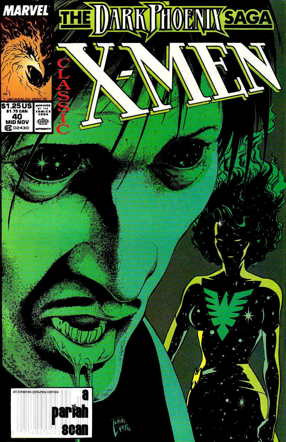 Classic X-Men 40 Page 1