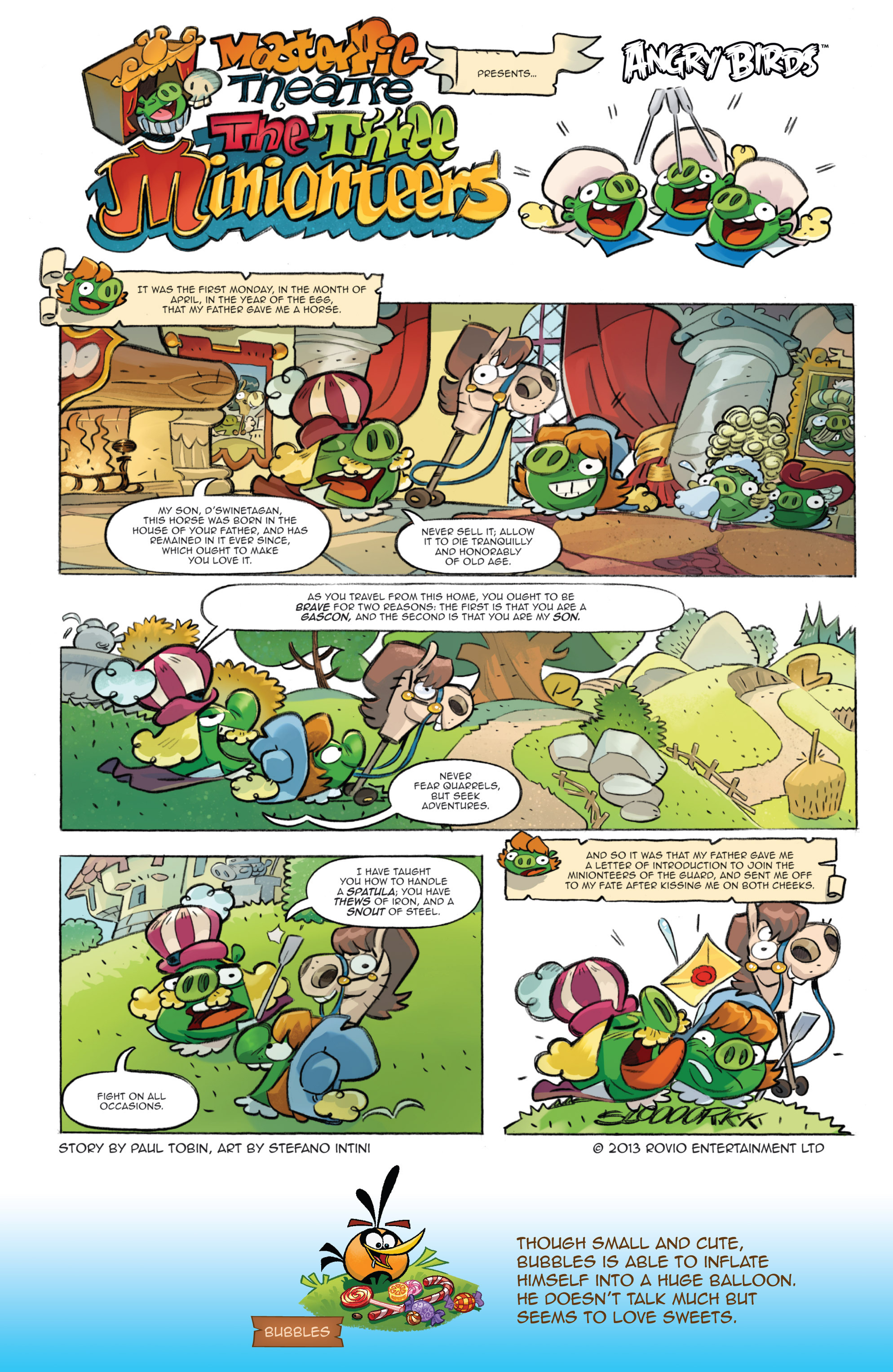 Read online Angry Birds Comics (2016) comic -  Issue #1 - 13