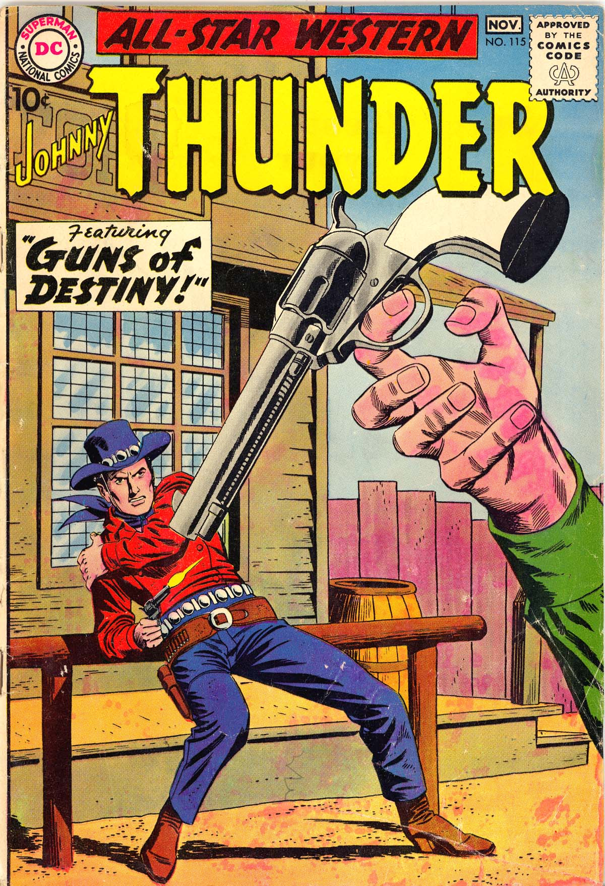 Read online All-Star Western (1951) comic -  Issue #115 - 1