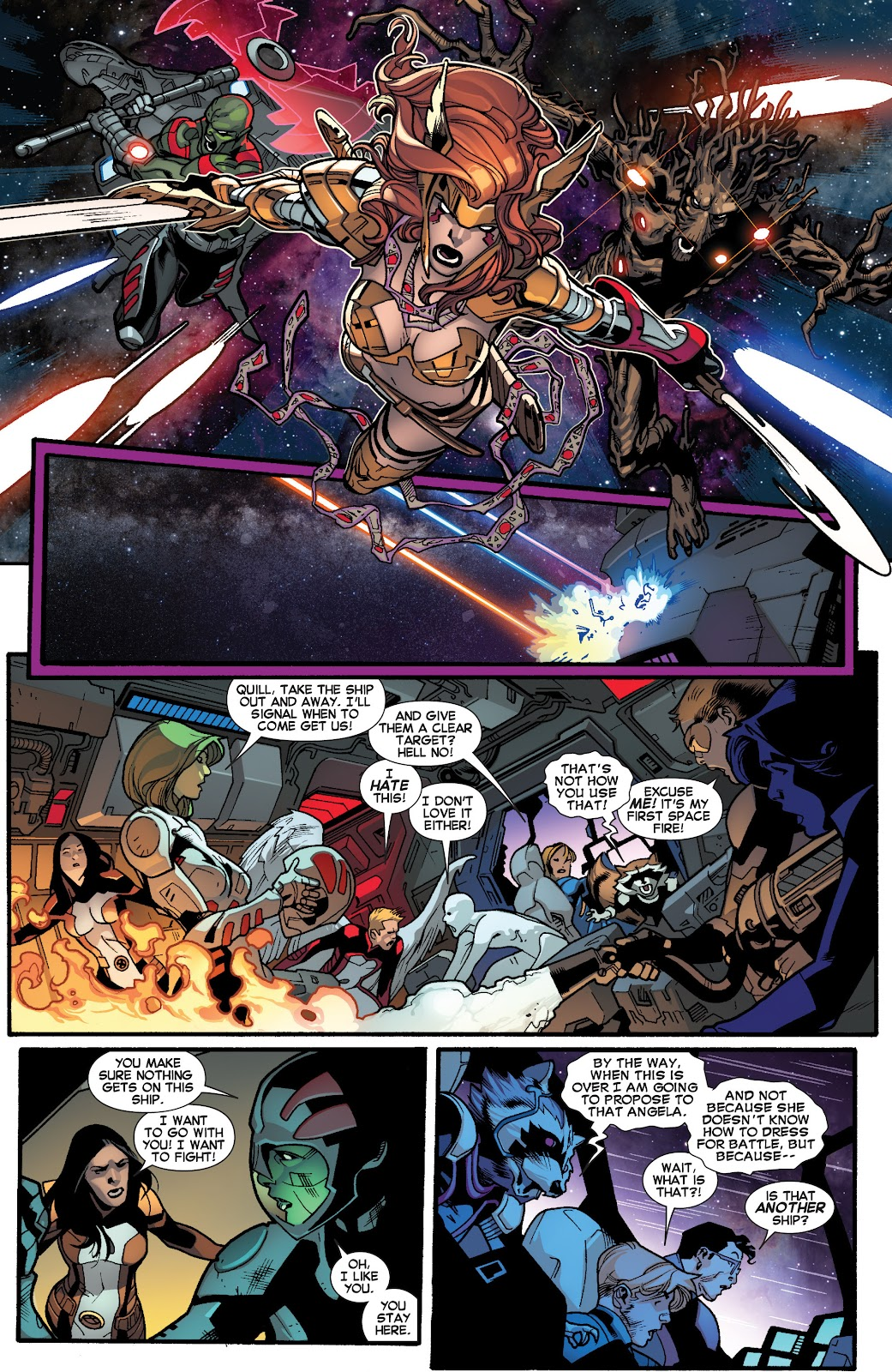 Guardians of the Galaxy/All-New X-Men: The Trial of Jean Grey issue TPB - Page 57