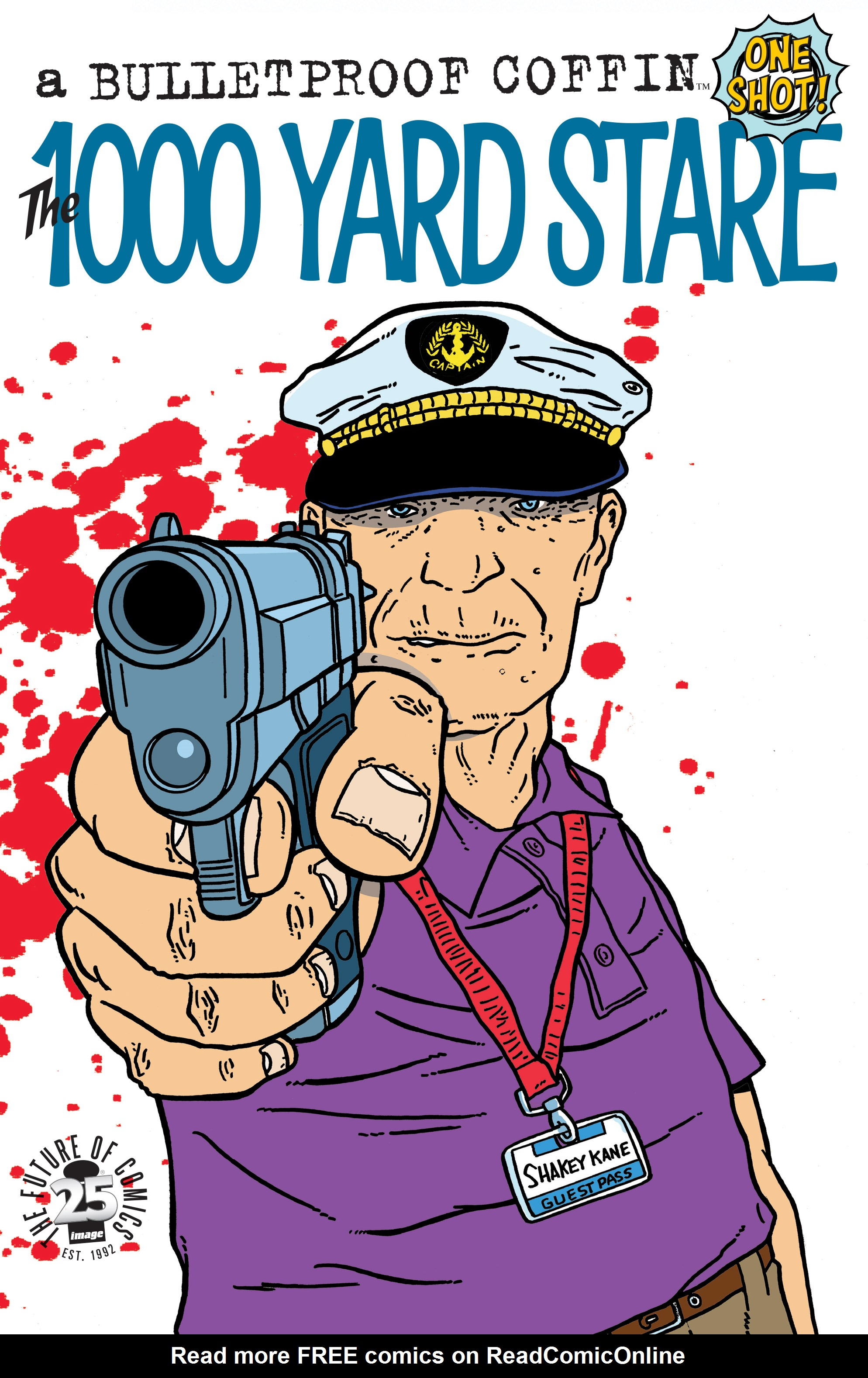 Read online Bulletproof Coffin: The Thousand Yard Stare comic -  Issue # Full - 1