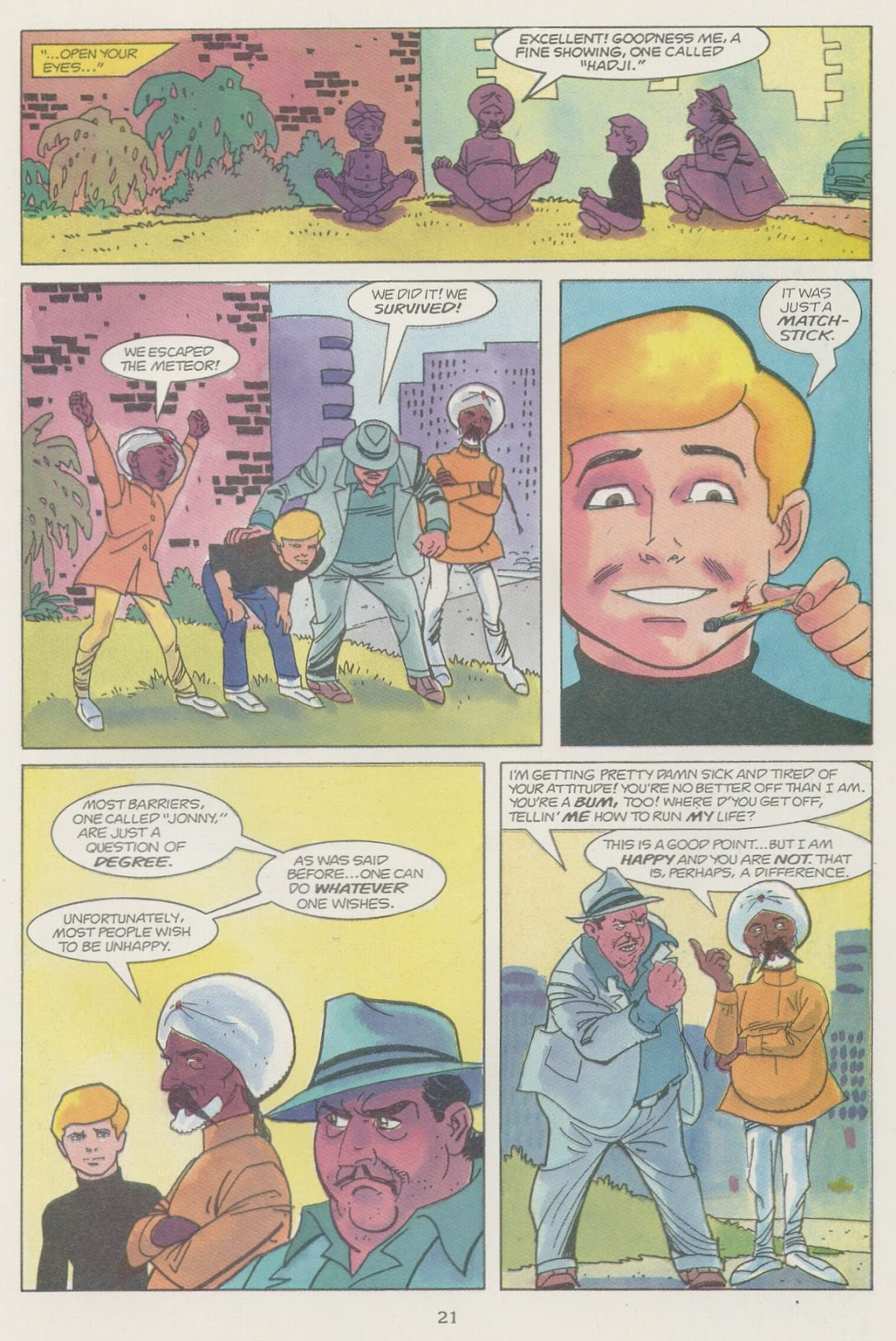 Jonny Quest (1986) issue 19 - Page 23