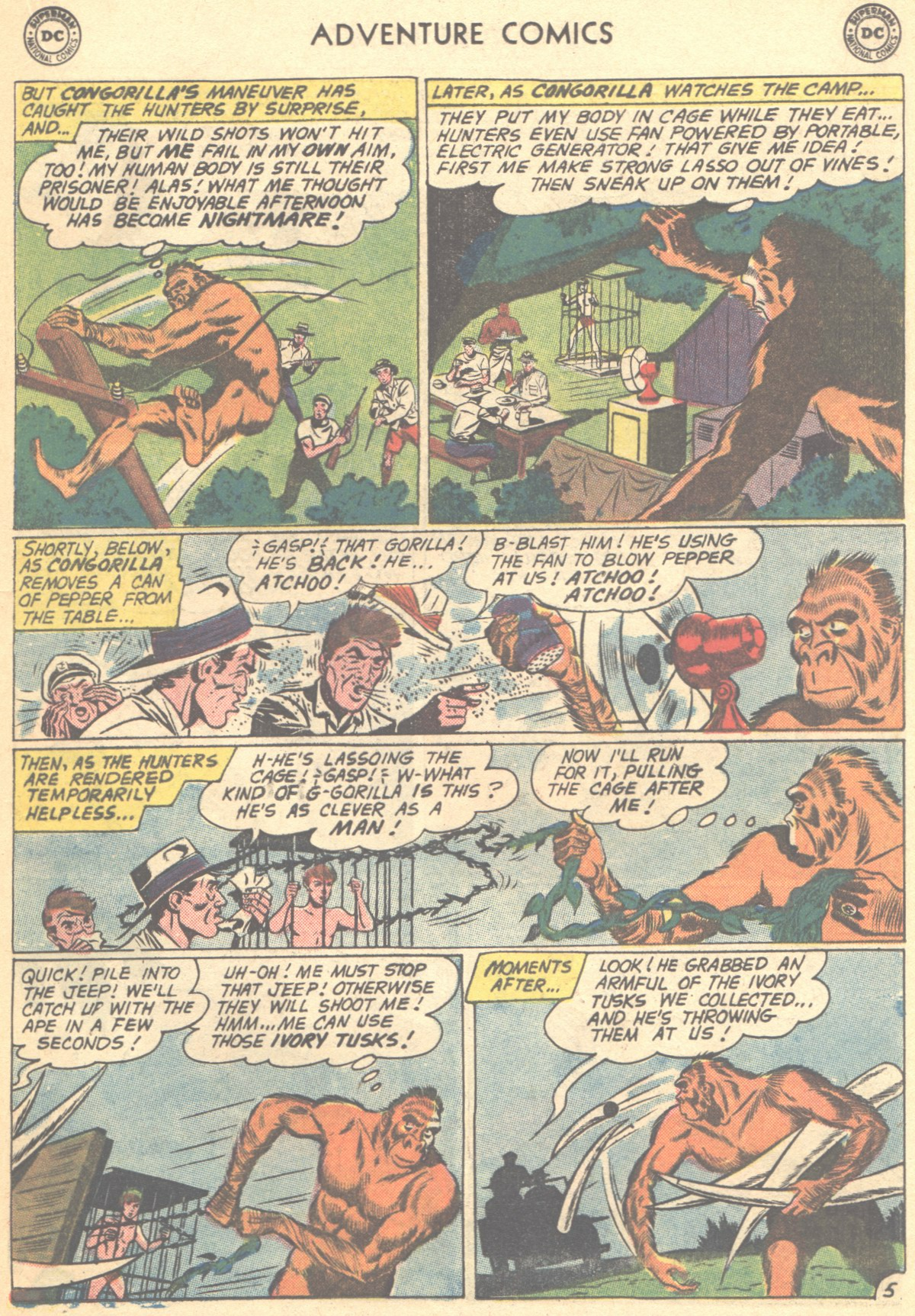 Read online Adventure Comics (1938) comic -  Issue #278 - 21