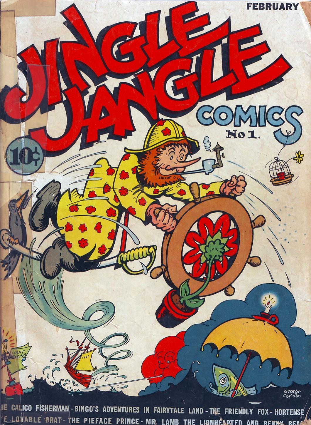 Jingle Jangle Comics issue 1 - Page 2