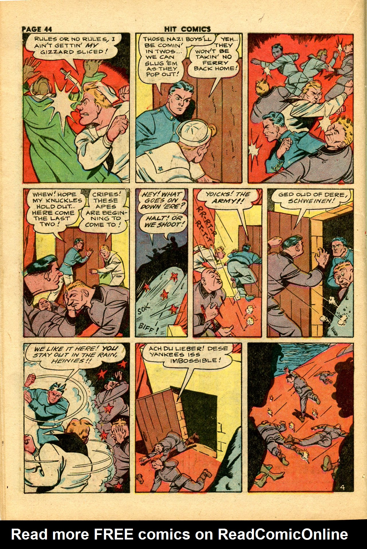 Read online Hit Comics comic -  Issue #28 - 47