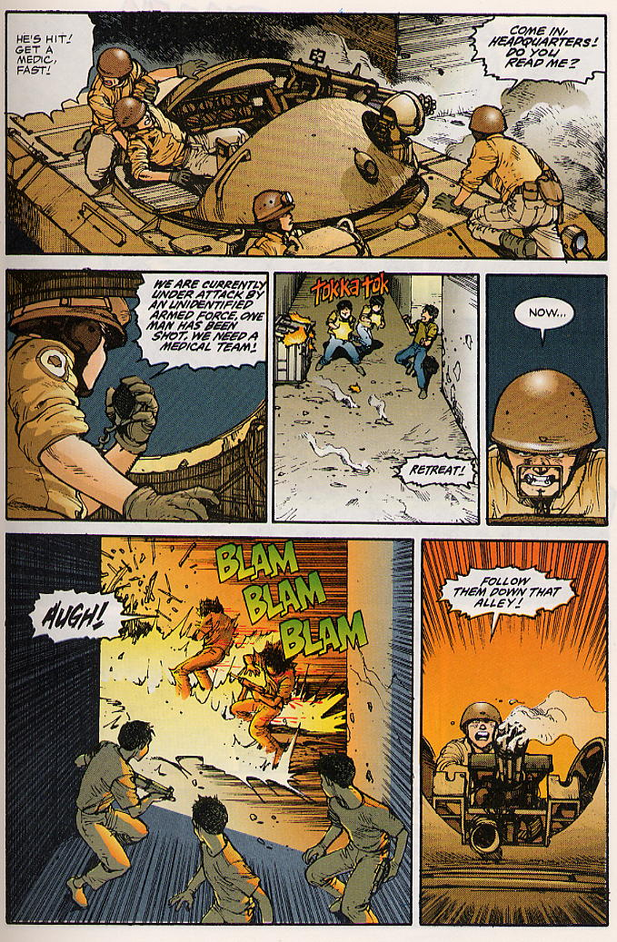 Read online Akira comic -  Issue #15 - 12