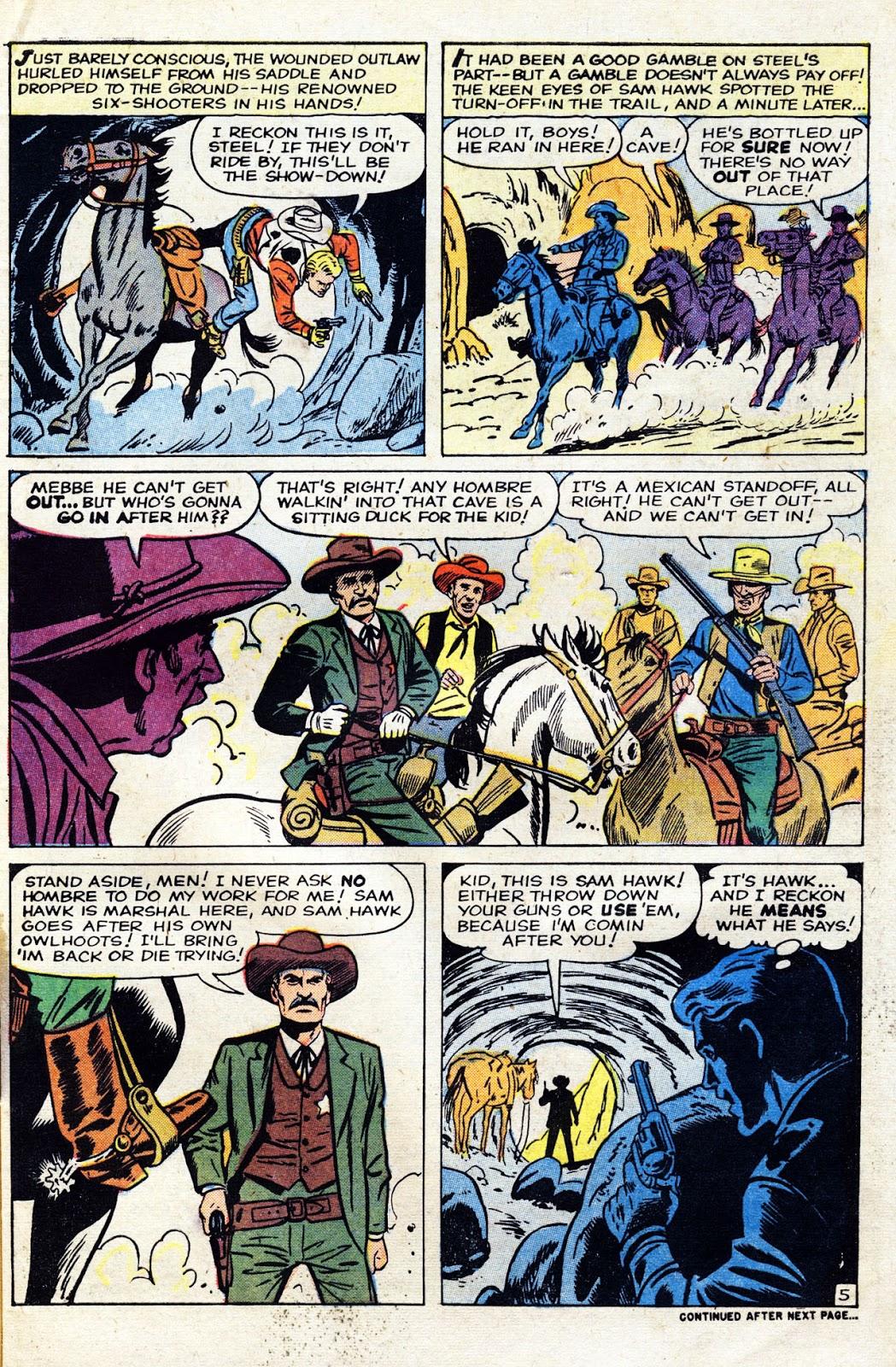 Gunsmoke Western issue 60 - Page 7