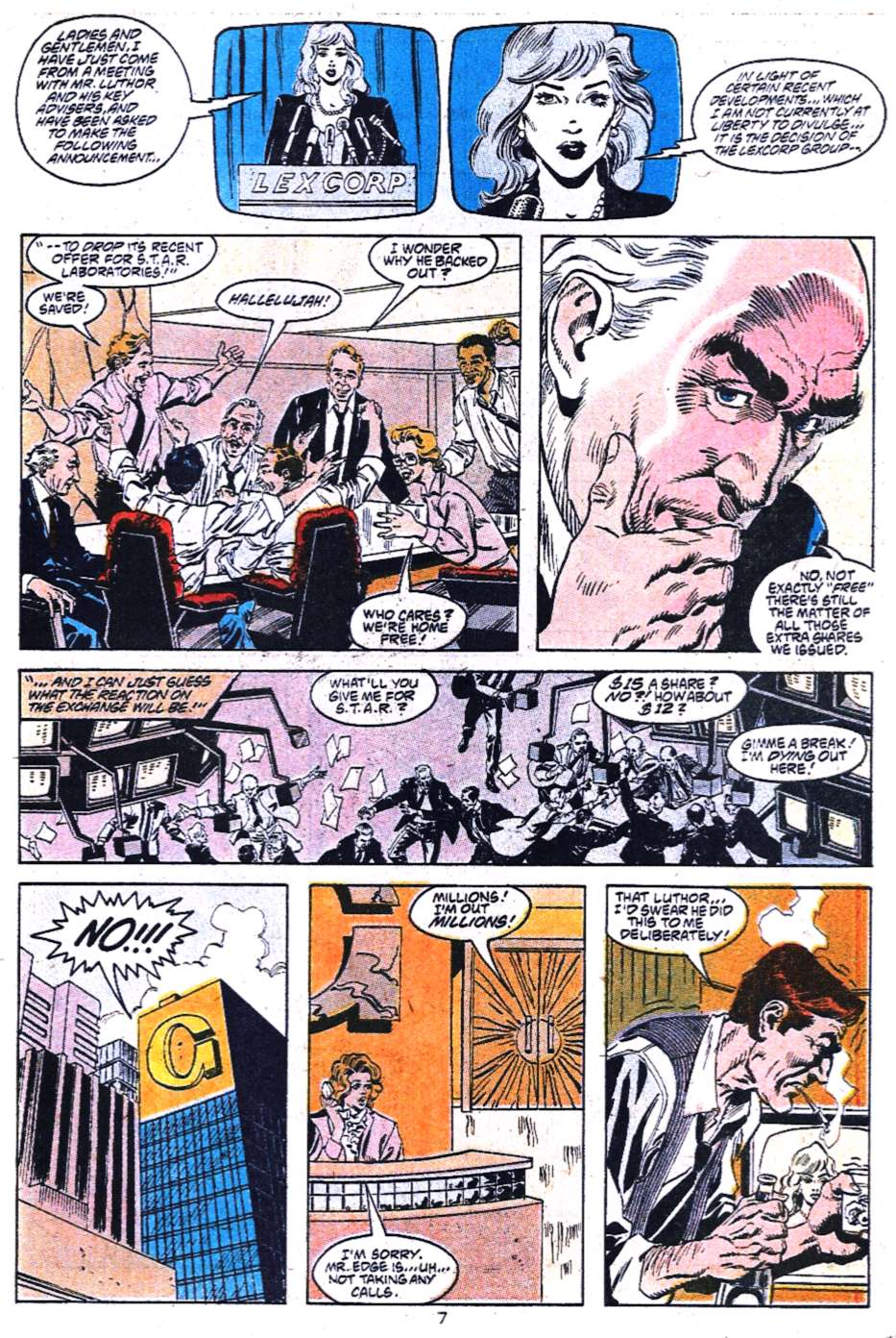 Read online Adventures of Superman (1987) comic -  Issue #454 - 22