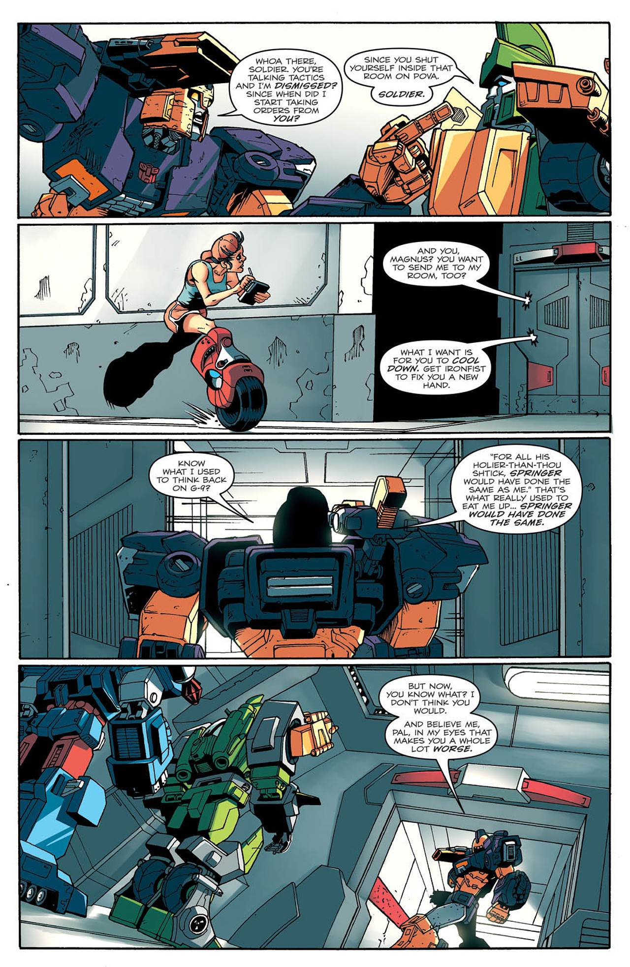 Read online Transformers: Last Stand of The Wreckers comic -  Issue #2 - 12