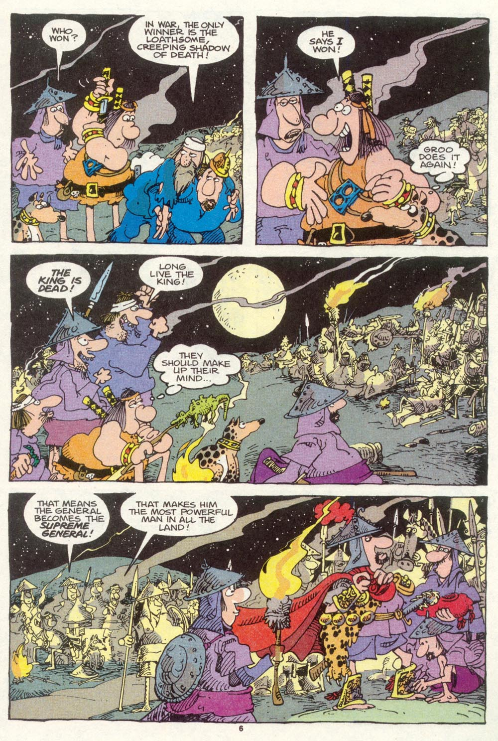 Read online Sergio Aragonés Groo the Wanderer comic -  Issue #87 - 7
