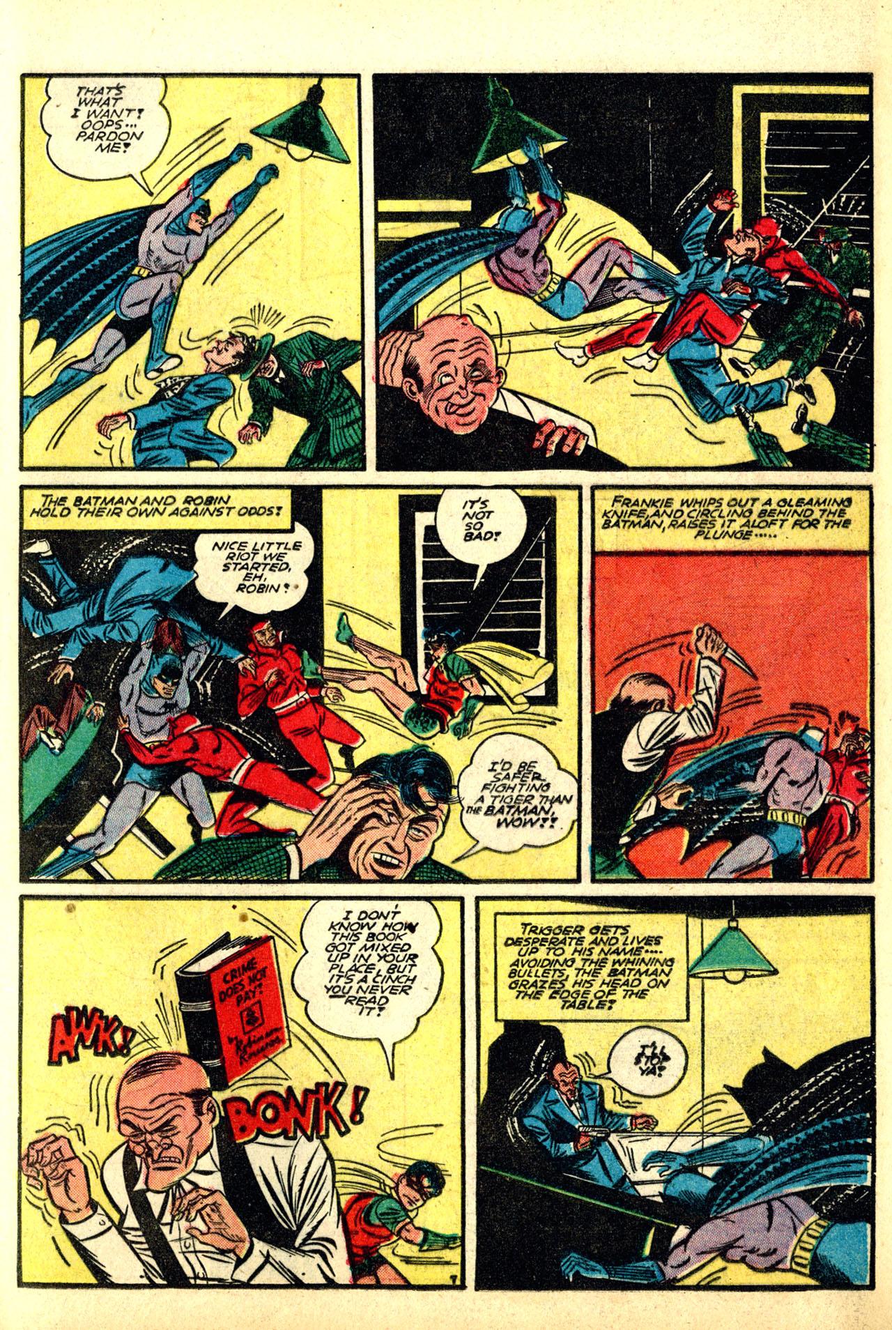 Read online Detective Comics (1937) comic -  Issue #50 - 9