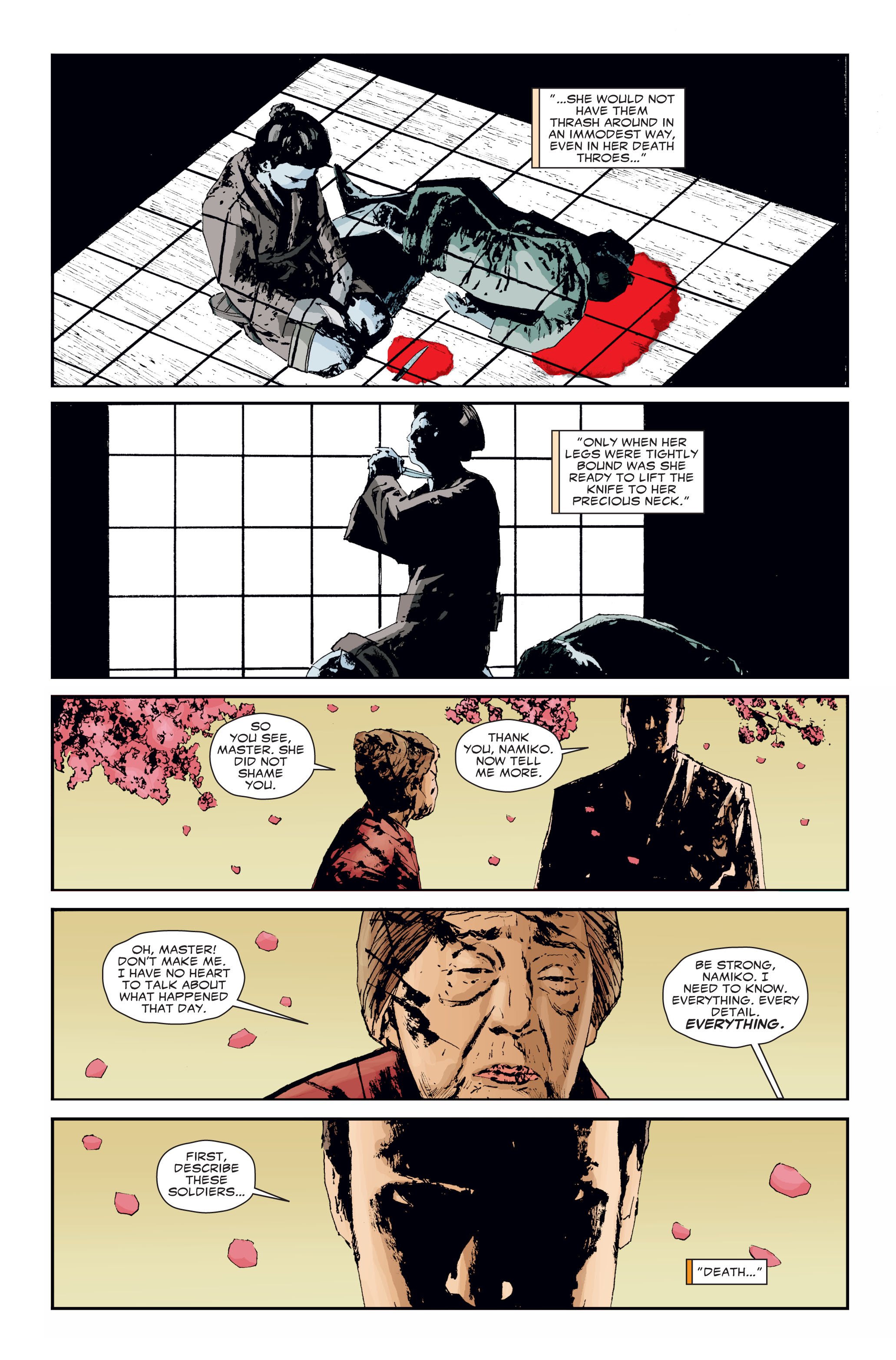 Read online 5 Ronin (2011) comic -  Issue #3 - 9