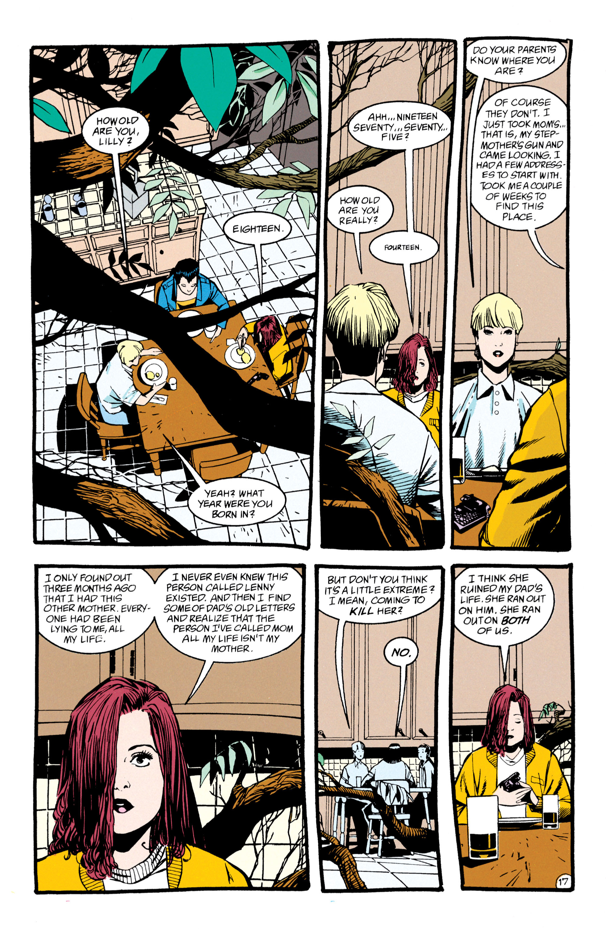 Read online Shade, the Changing Man comic -  Issue #47 - 18