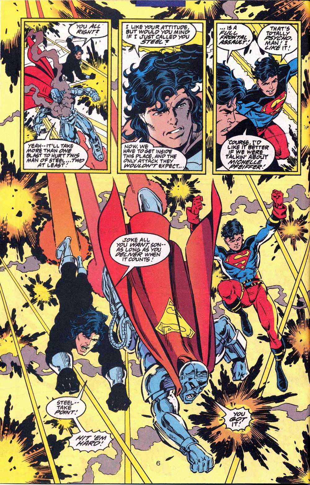 Read online Adventures of Superman (1987) comic -  Issue #504 - 7