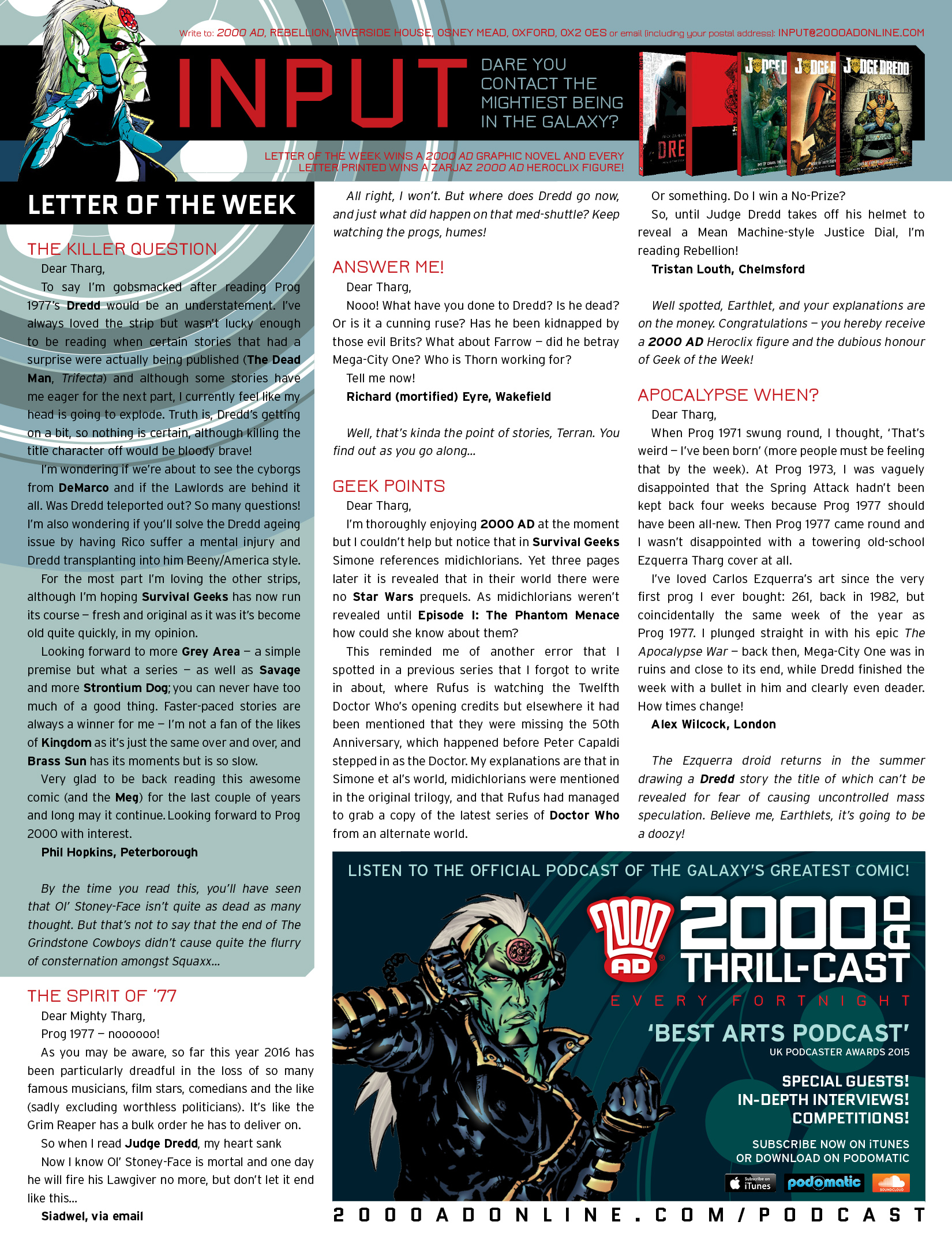 Read online 2000 AD comic -  Issue #1980 - 15