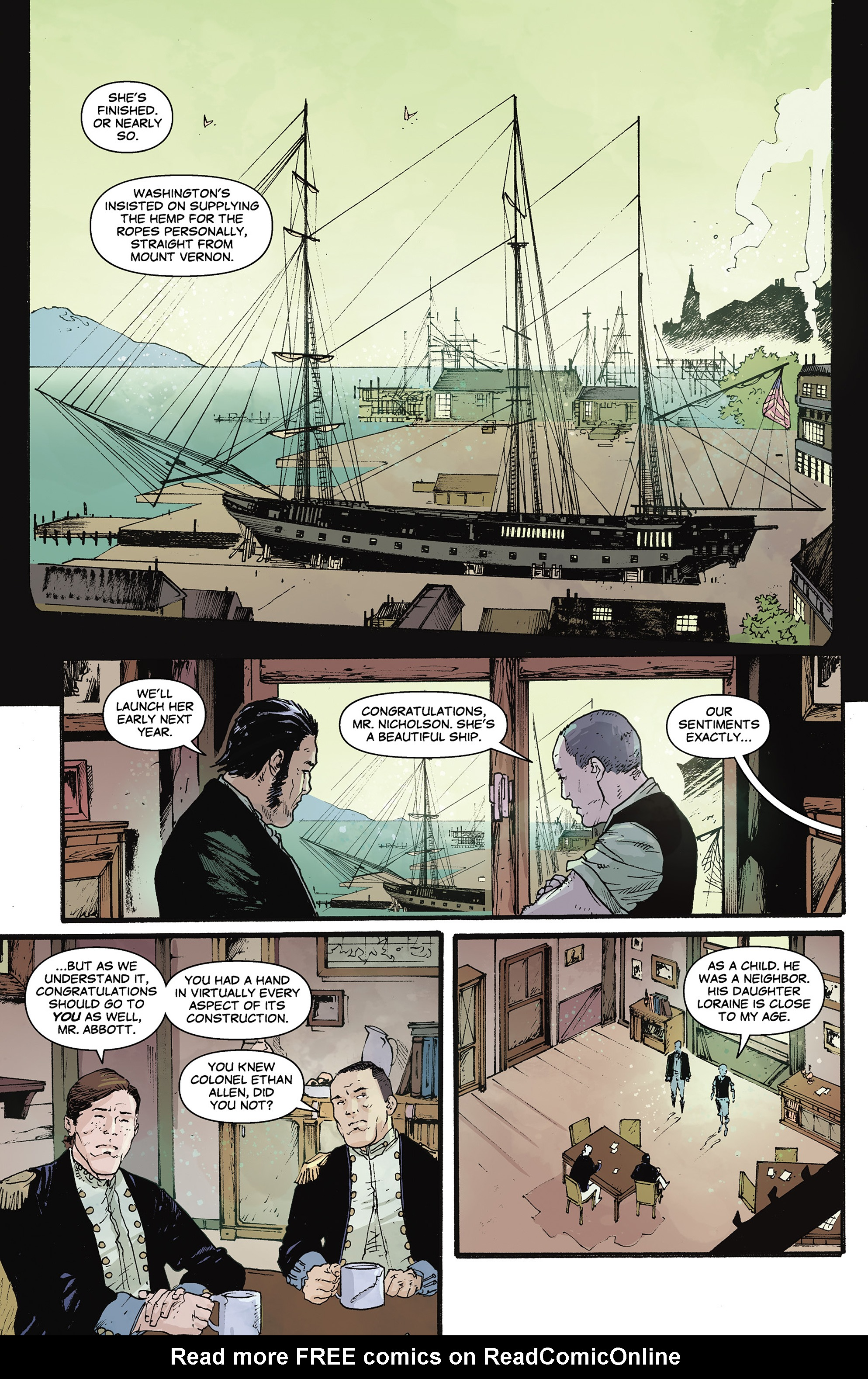 Read online Rebels: These Free and Independent States comic -  Issue #3 - 12