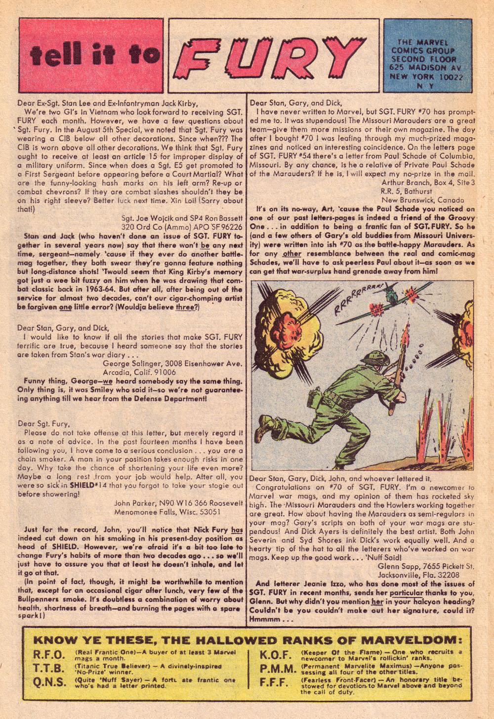 Read online Sgt. Fury comic -  Issue #74 - 32