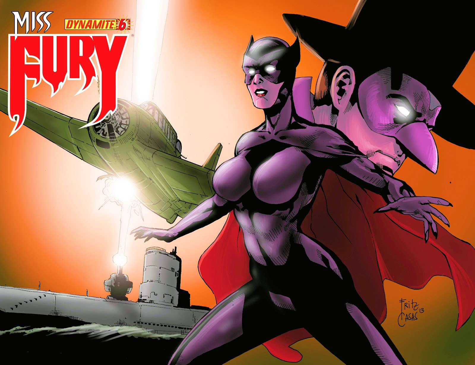 Miss Fury Digital First [I] issue 6 - Page 1