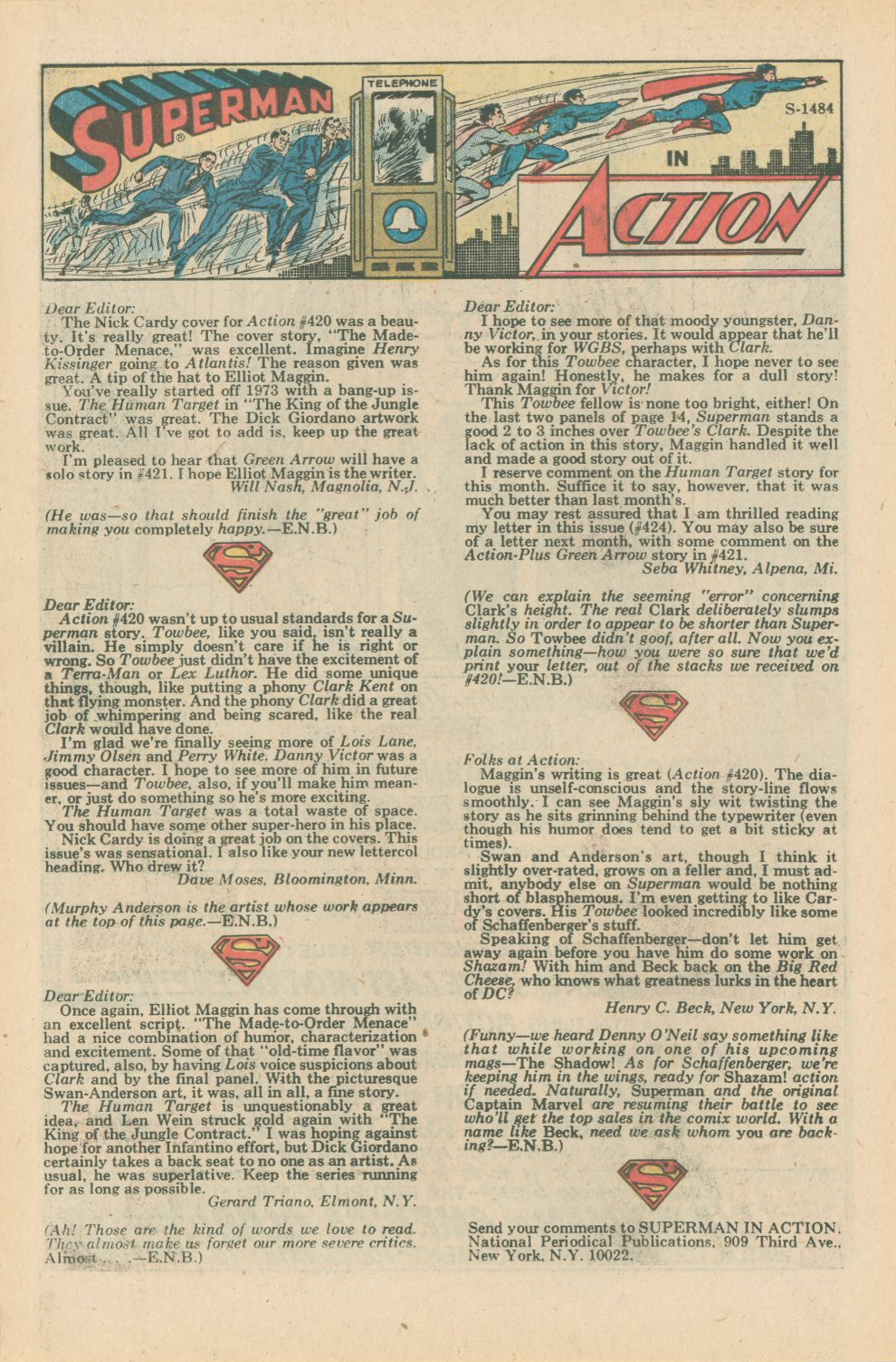 Action Comics (1938) 424 Page 20