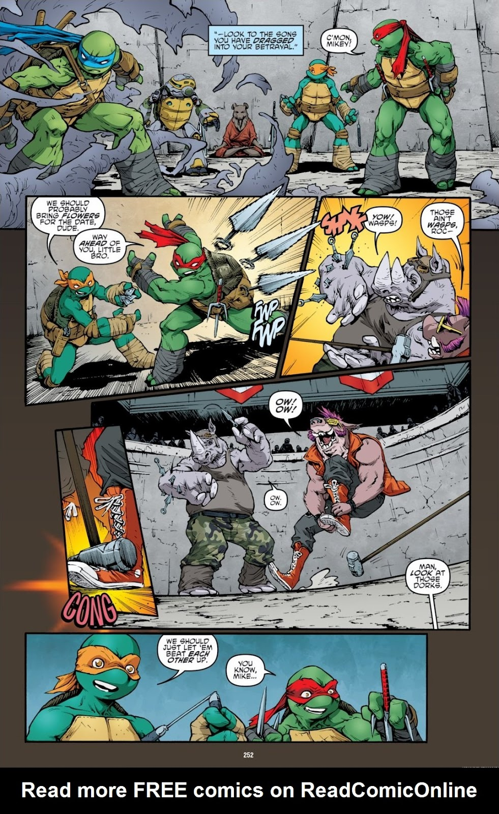 Read online Teenage Mutant Ninja Turtles: The IDW Collection comic -  Issue # TPB 6 (Part 3) - 45