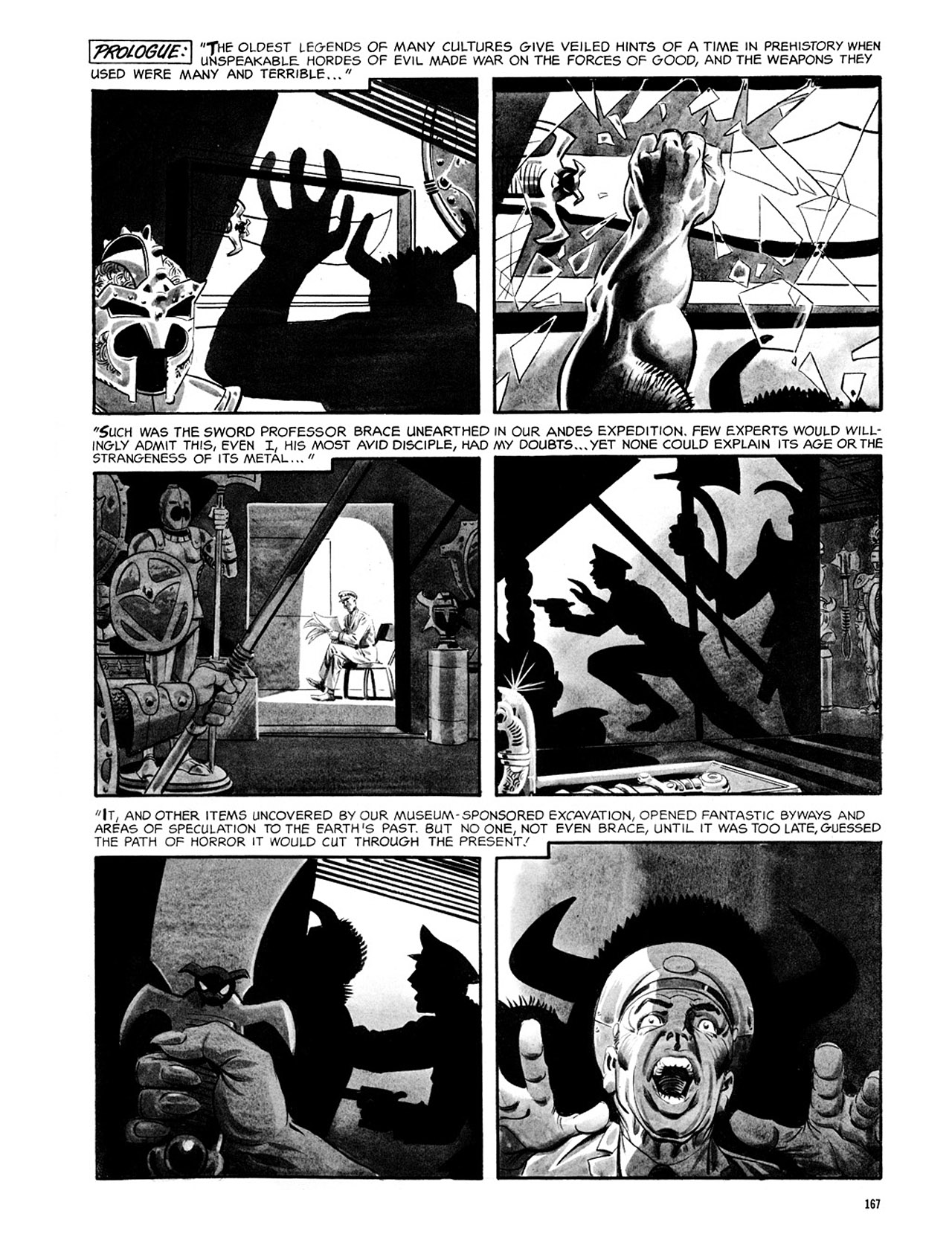 Read online Eerie Archives comic -  Issue # TPB 2 - 168