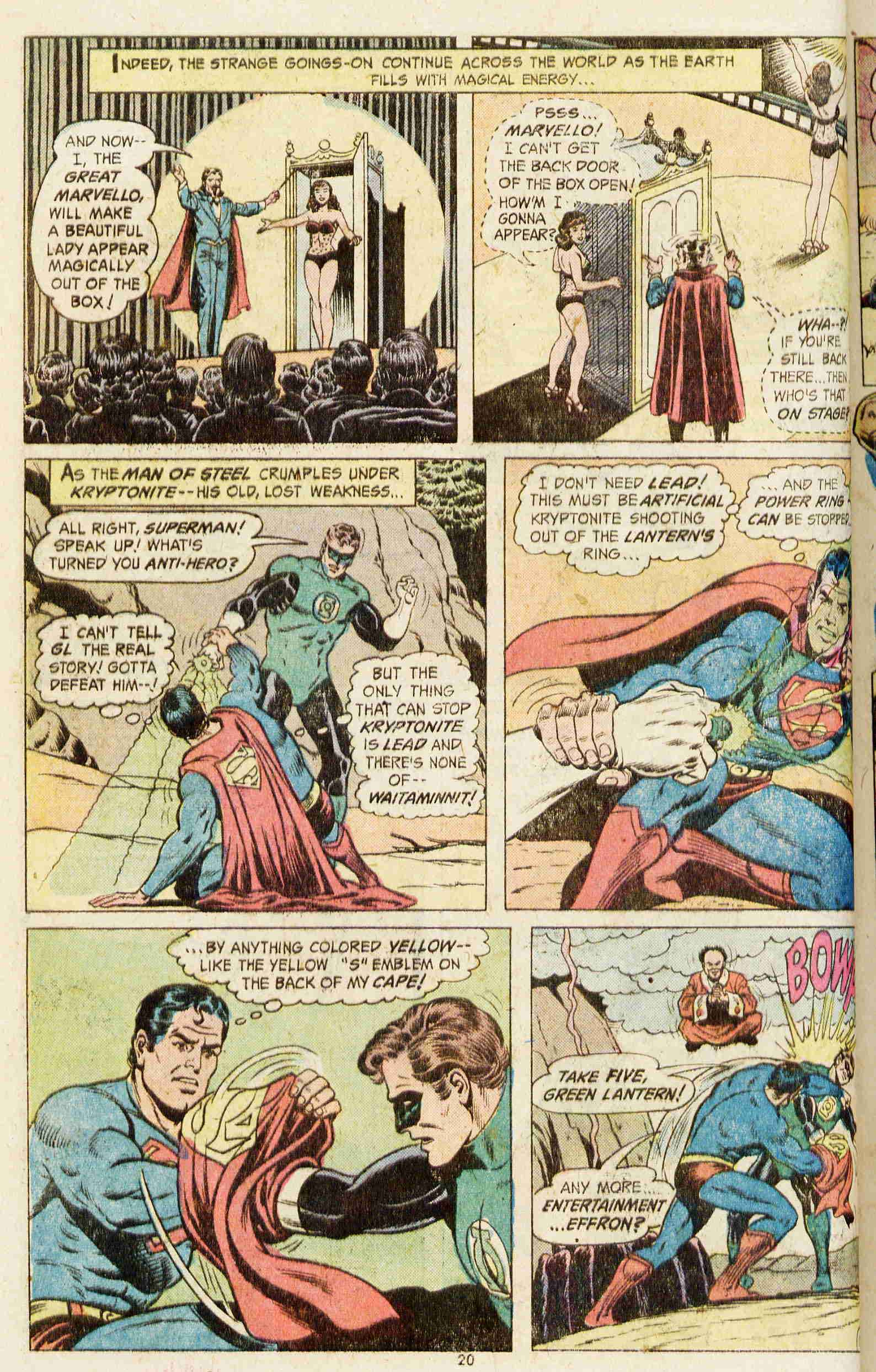 Read online Action Comics (1938) comic -  Issue #437 - 19