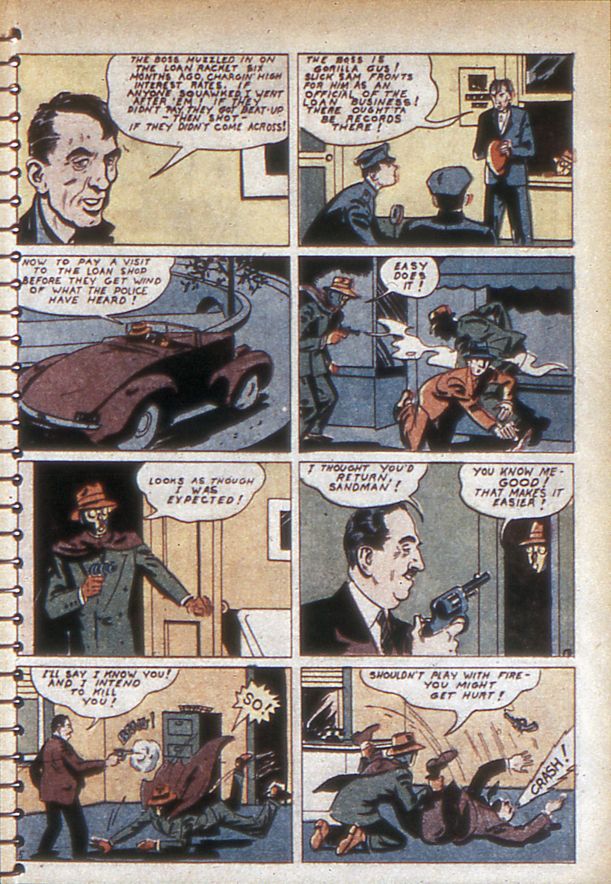 Read online Adventure Comics (1938) comic -  Issue #53 - 62