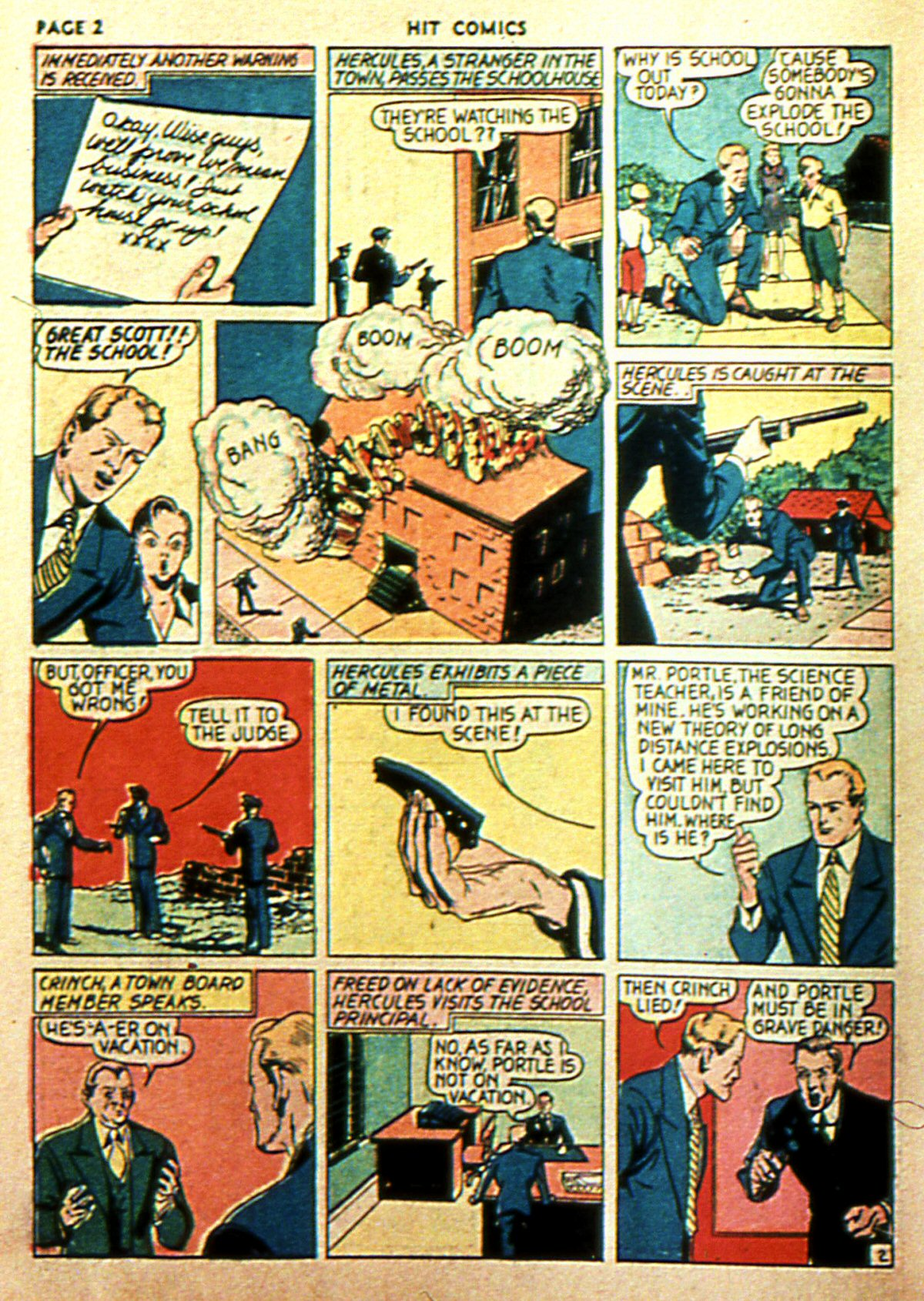 Read online Hit Comics comic -  Issue #2 - 4