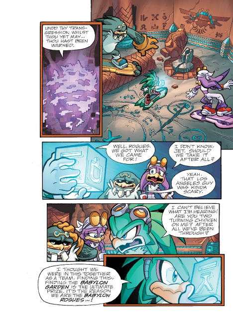 Read online Sonic Comics Spectacular: Speed of Sound comic -  Issue # Full - 157