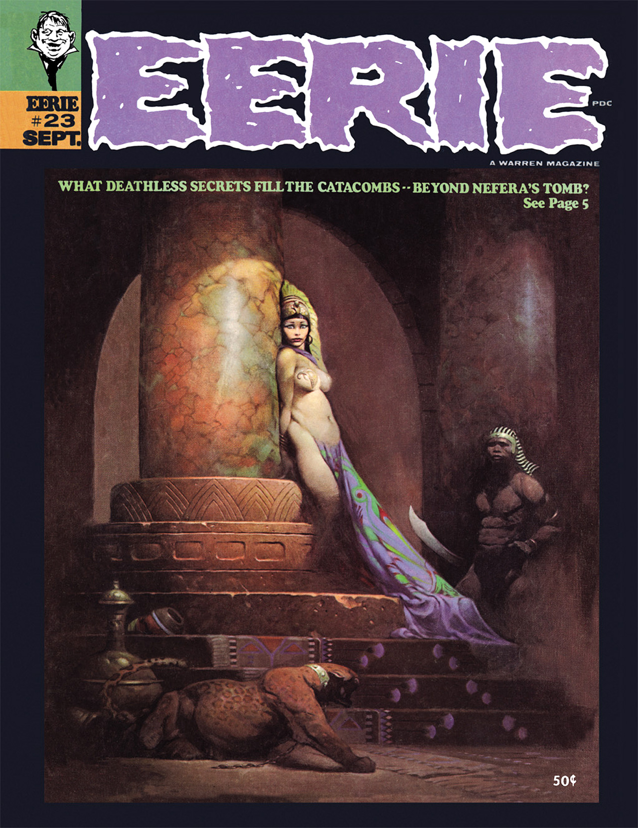 Read online Eerie Archives comic -  Issue # TPB 5 - 10