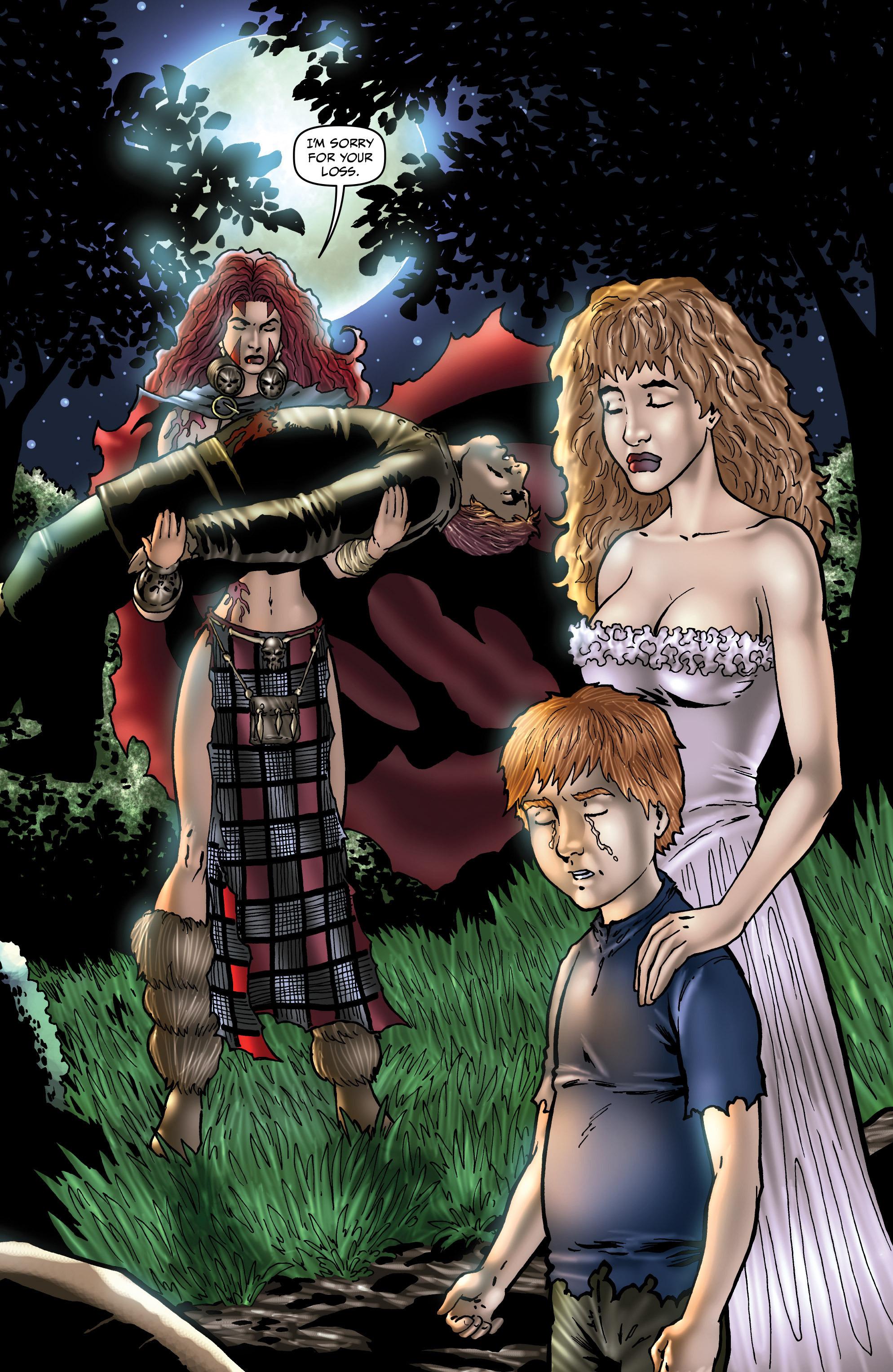 Read online Belladonna: Origins comic -  Issue #4 - 14