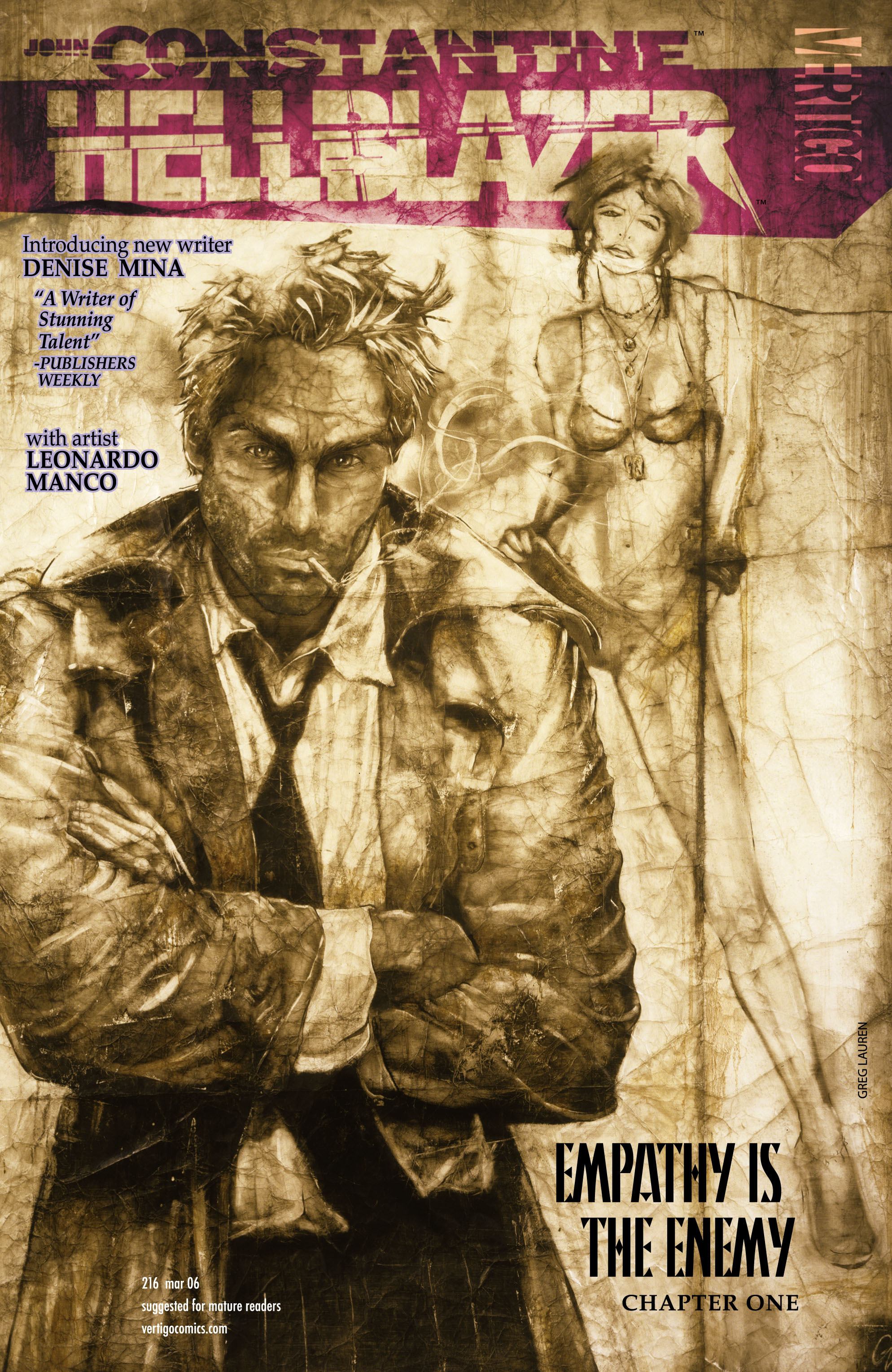 Hellblazer issue 216 - Page 1