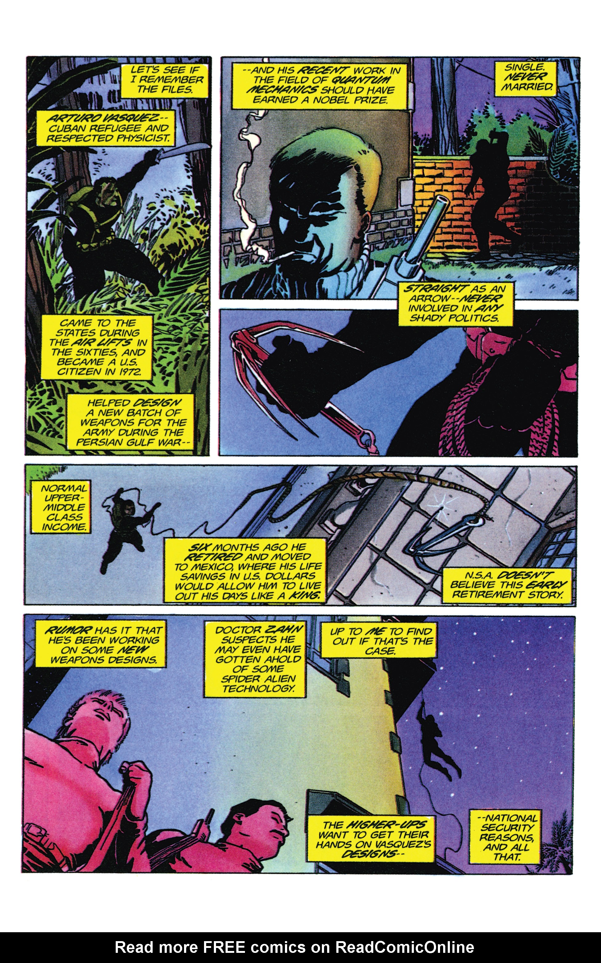 Read online Armorines comic -  Issue #9 - 4
