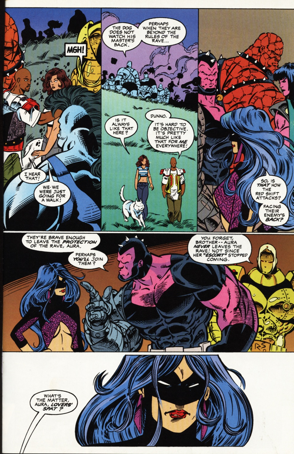 Read online Superboy & The Ravers comic -  Issue #2 - 16