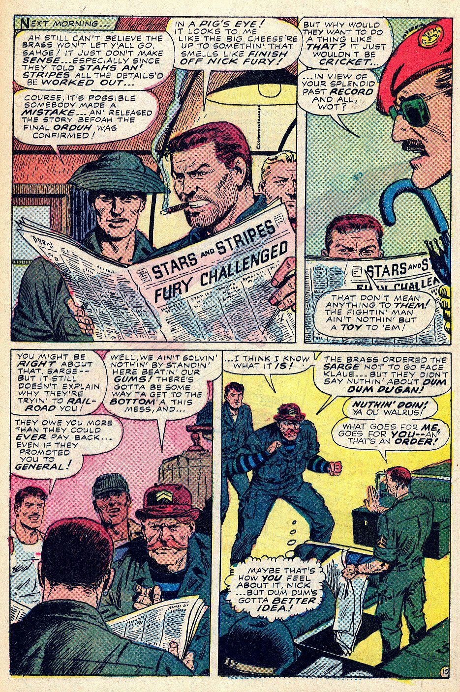 Read online Sgt. Fury comic -  Issue #59 - 16