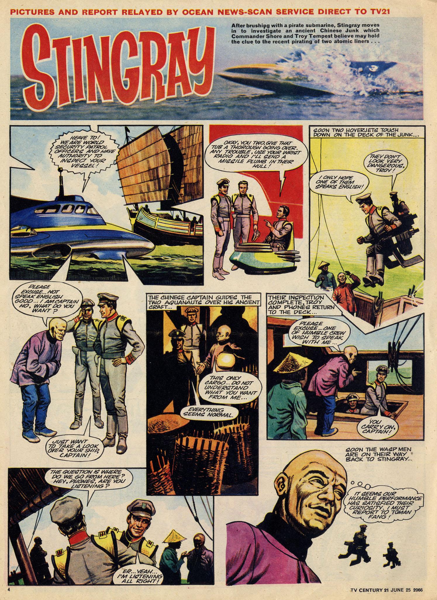 Read online TV Century 21 (TV 21) comic -  Issue #75 - 4