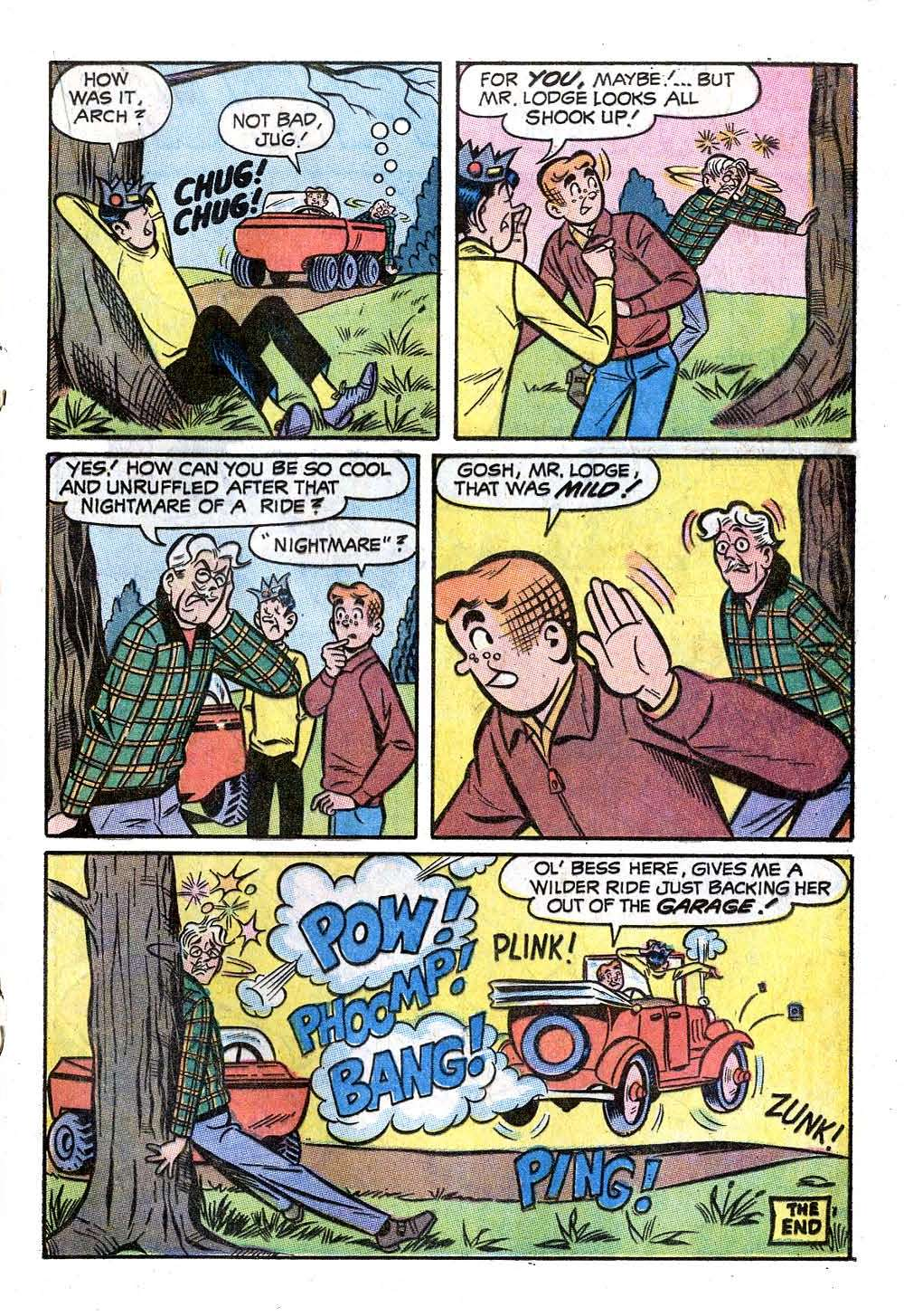Read online Archie (1960) comic -  Issue #207 - 17
