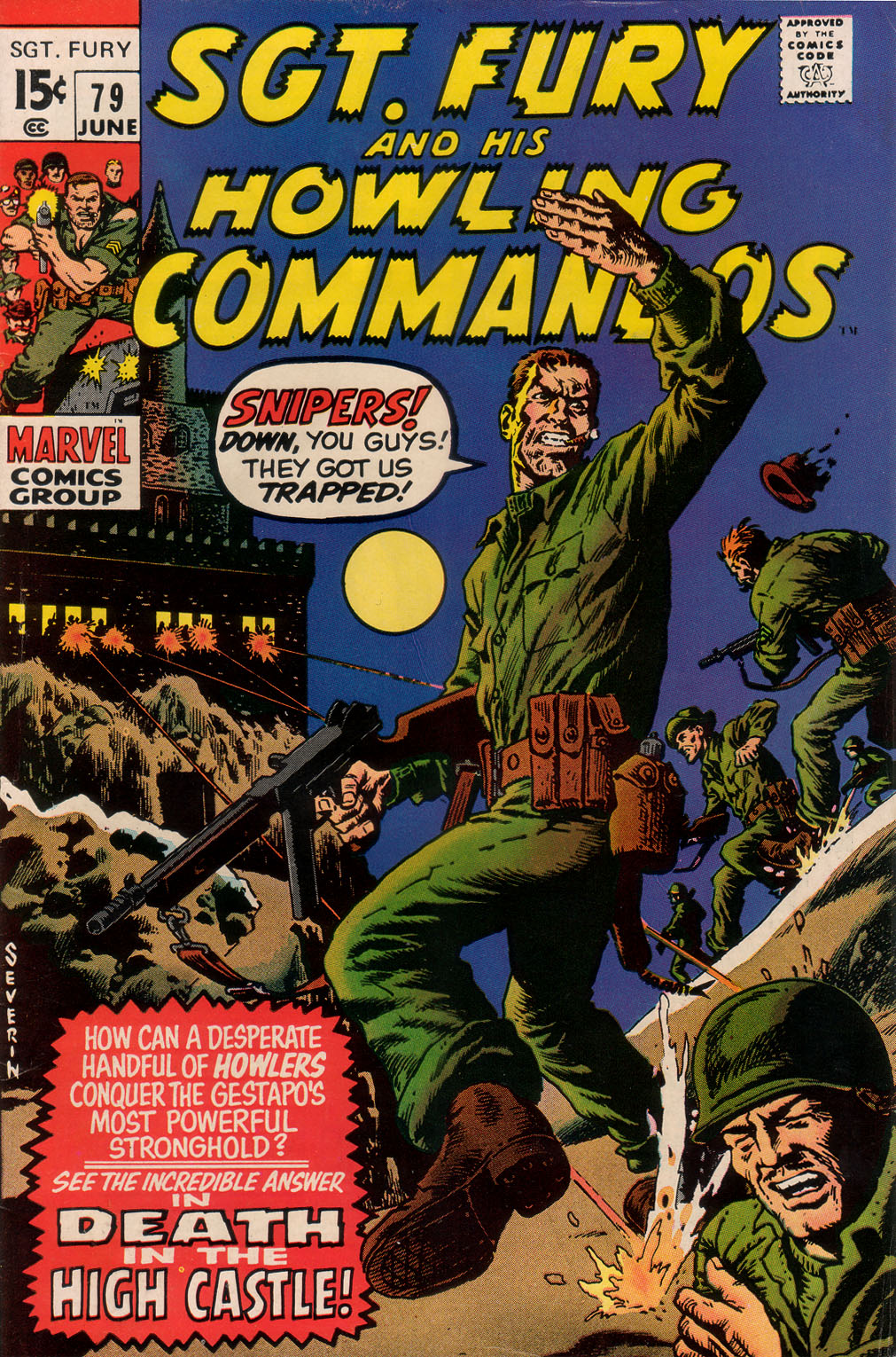 Read online Sgt. Fury comic -  Issue #79 - 1