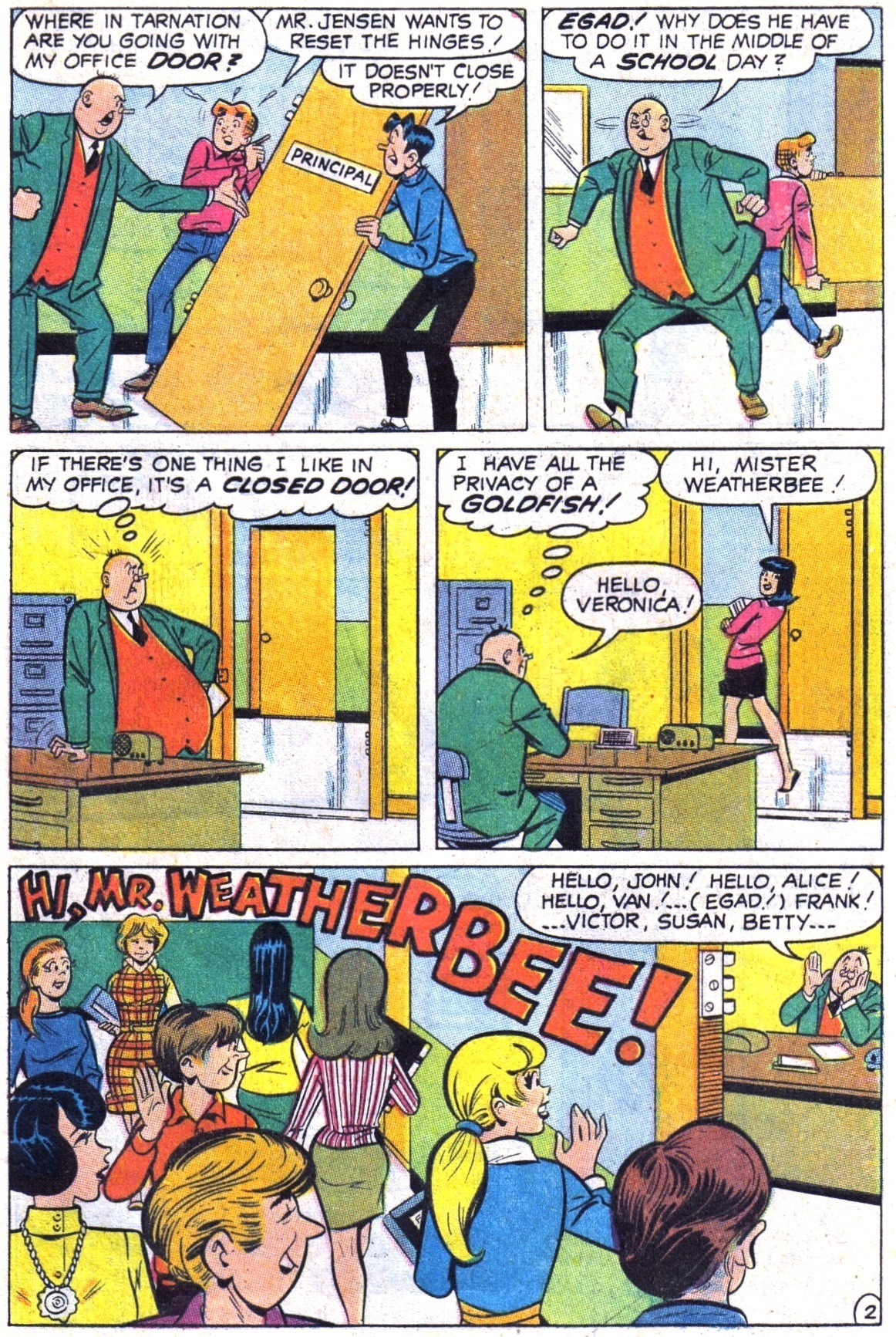 Read online Archie (1960) comic -  Issue #189 - 29