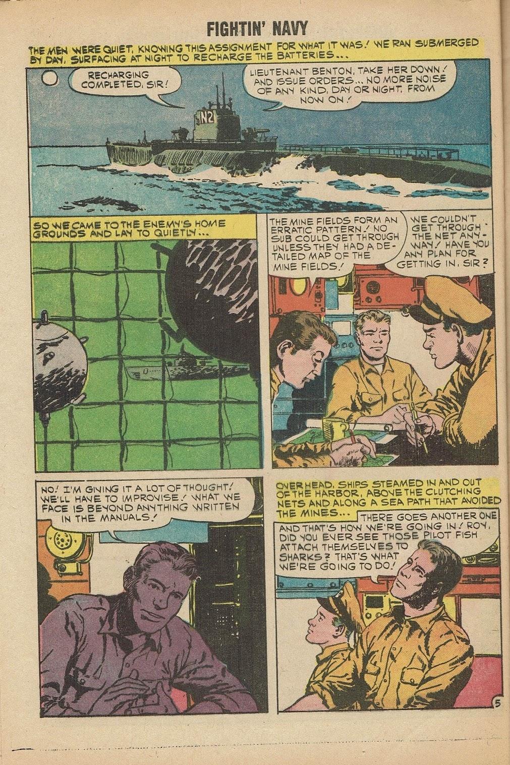 Read online Fightin' Navy comic -  Issue #91 - 8